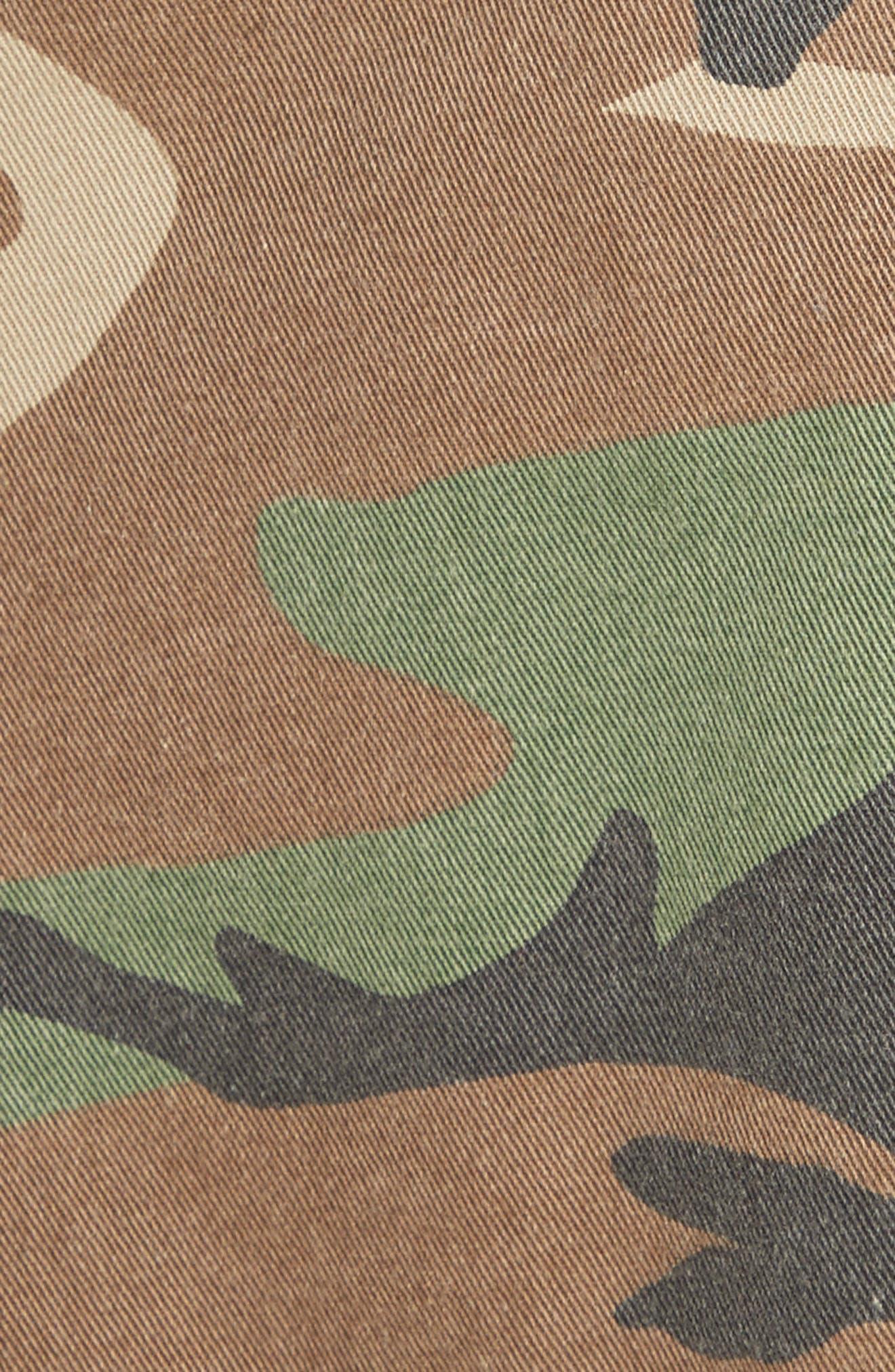 Alternate Image 3  - MARC JACOBS Camo Print Cargo Miniskirt