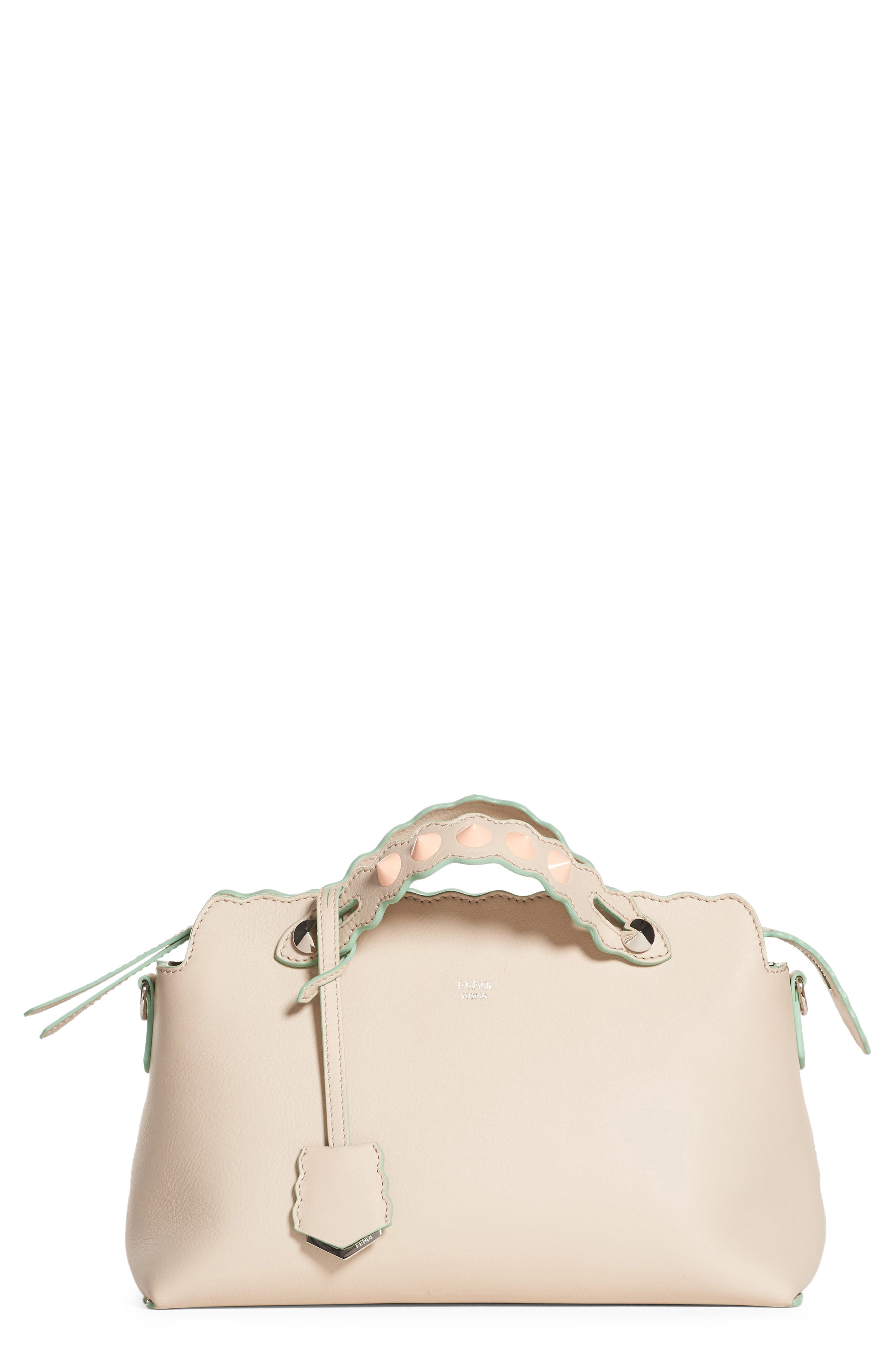 Fendi Medium By The Way Leather Shoulder Bag