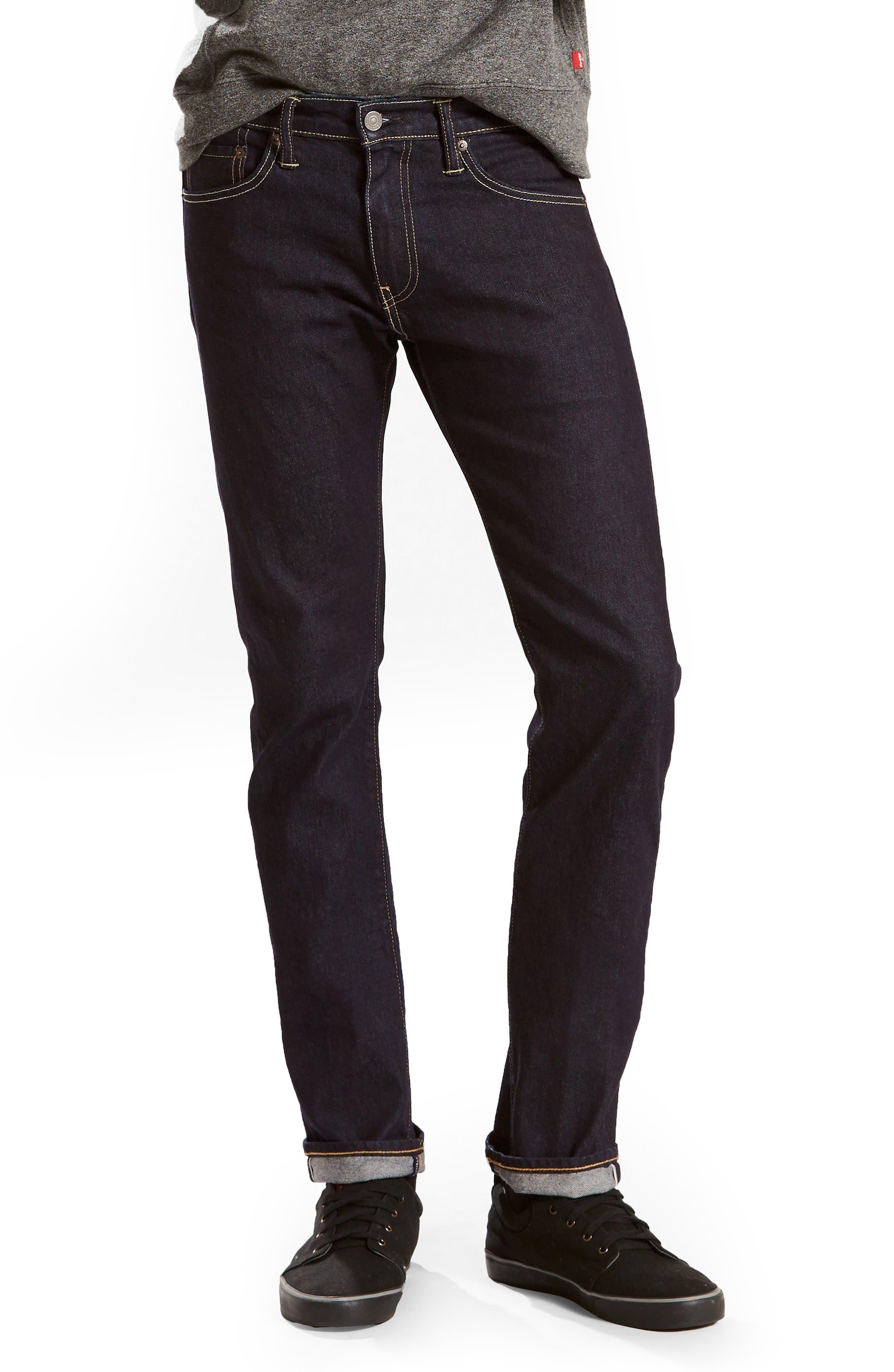 Levi's 511 Slim Fit Jeans (Selvedge Stirline)