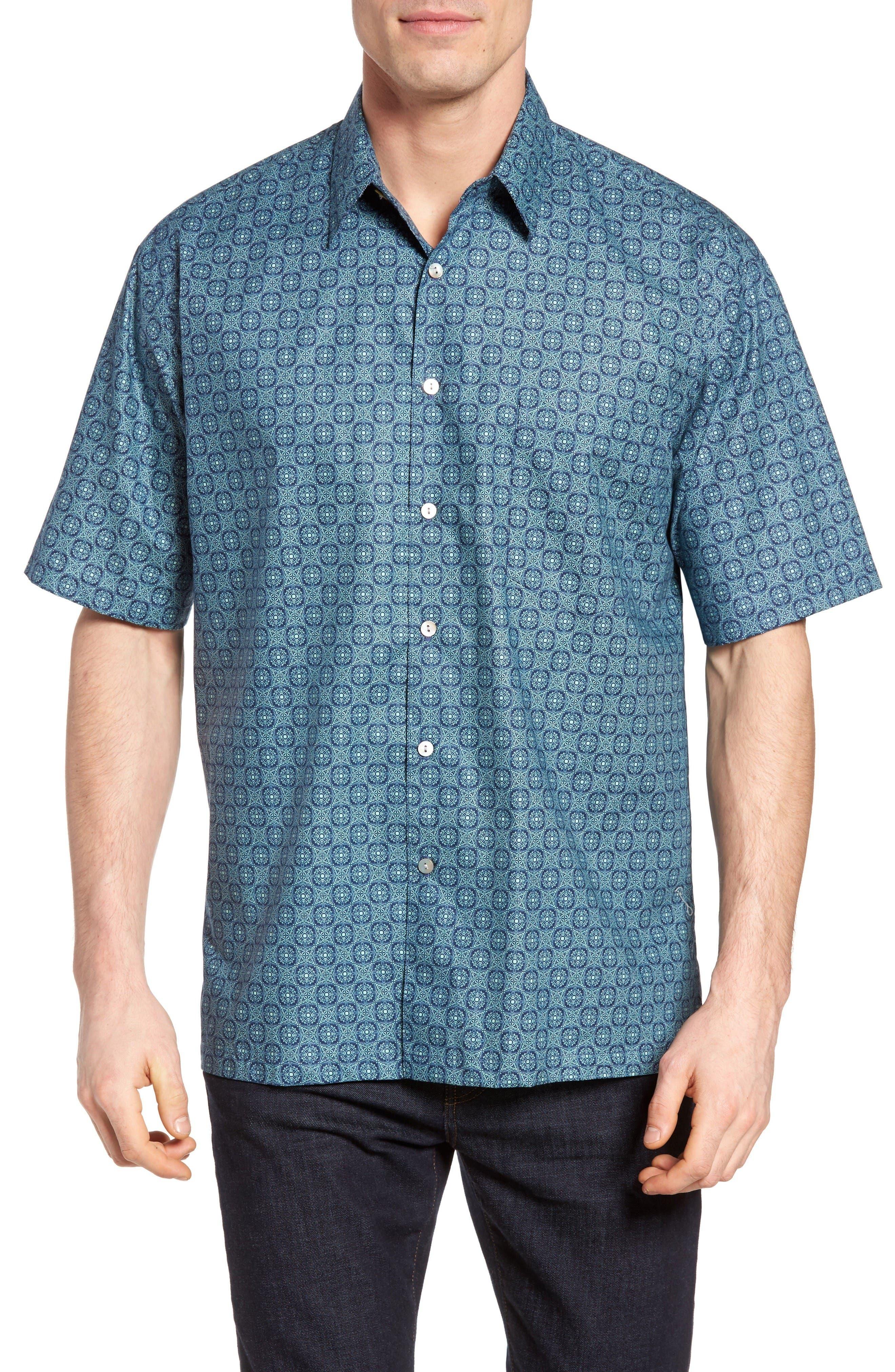 Tori Richard 'Atom' Regular Fit Cotton Lawn Sport Shirt