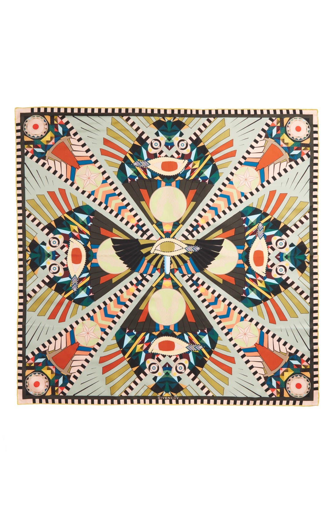 Alternate Image 2  - Givenchy Egyptian Wings Square Scarf
