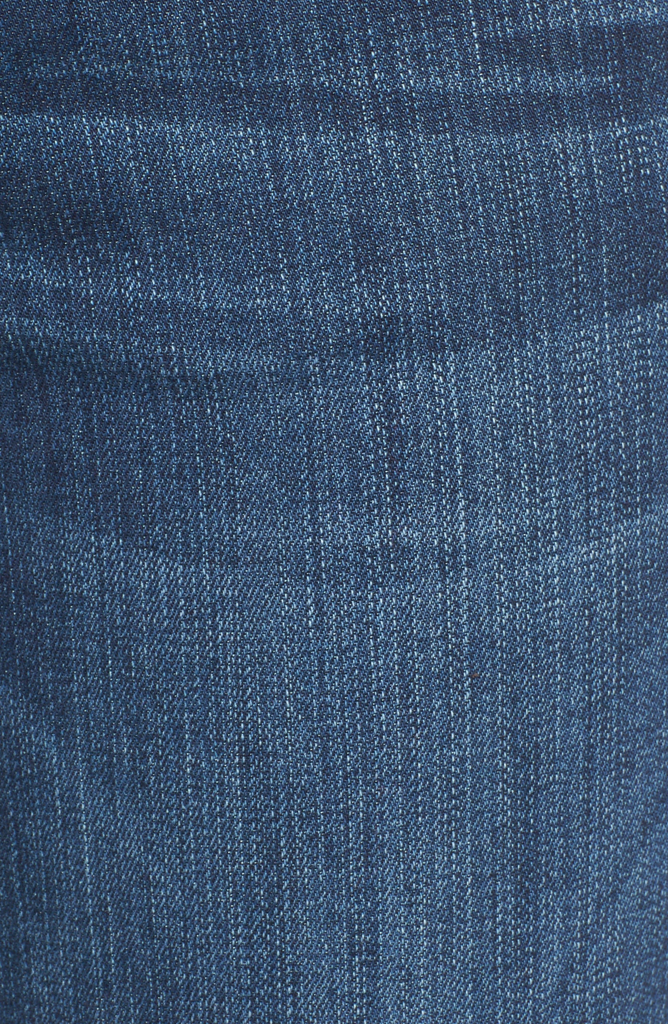 Alternate Image 5  - KUT from the Kloth Diana Stretch Skinny Jeans (Moderation) (Regular & Petite)