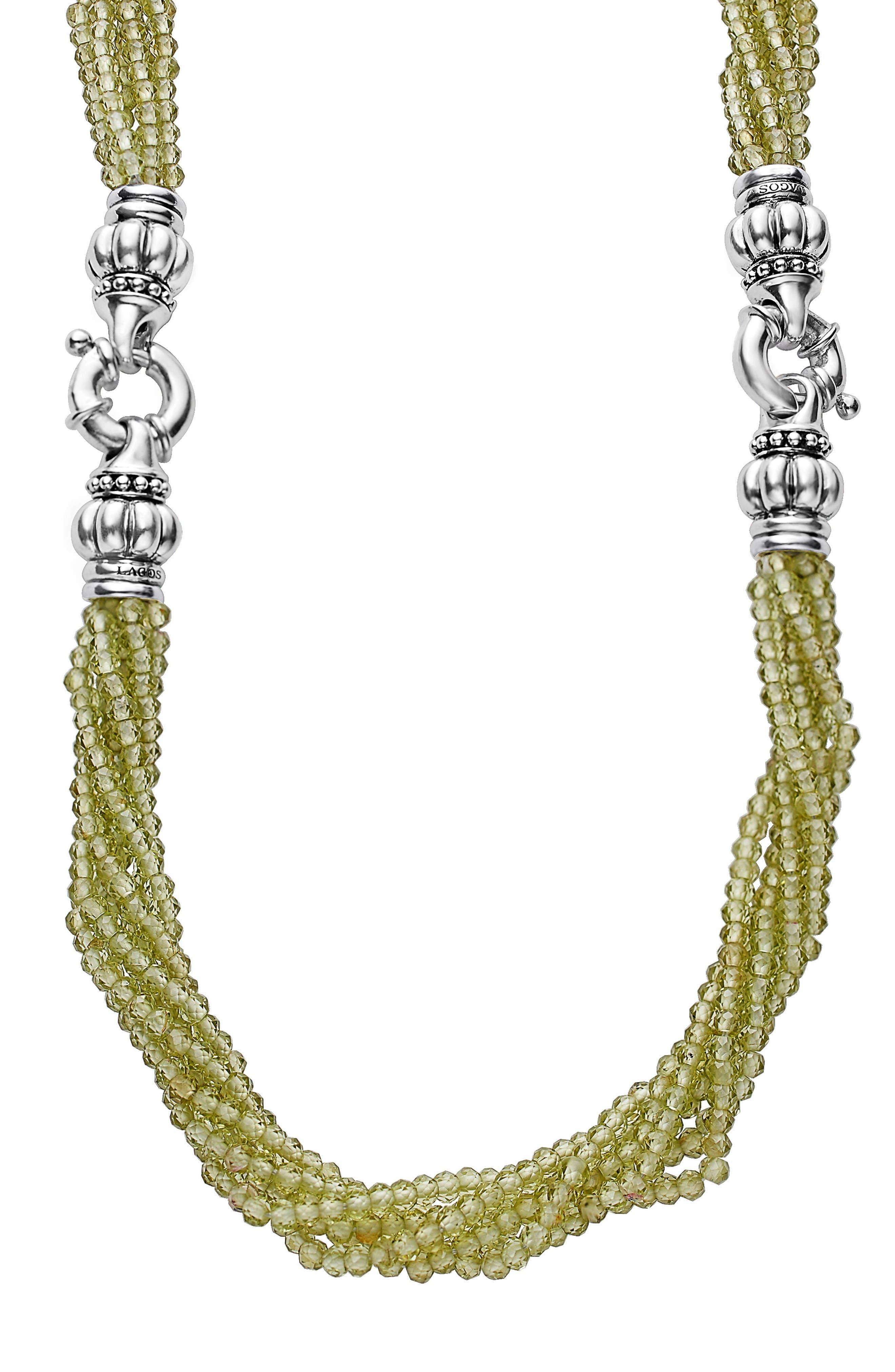 LAGOS Caviar Icon Bead Convertible Bracelet & Necklace
