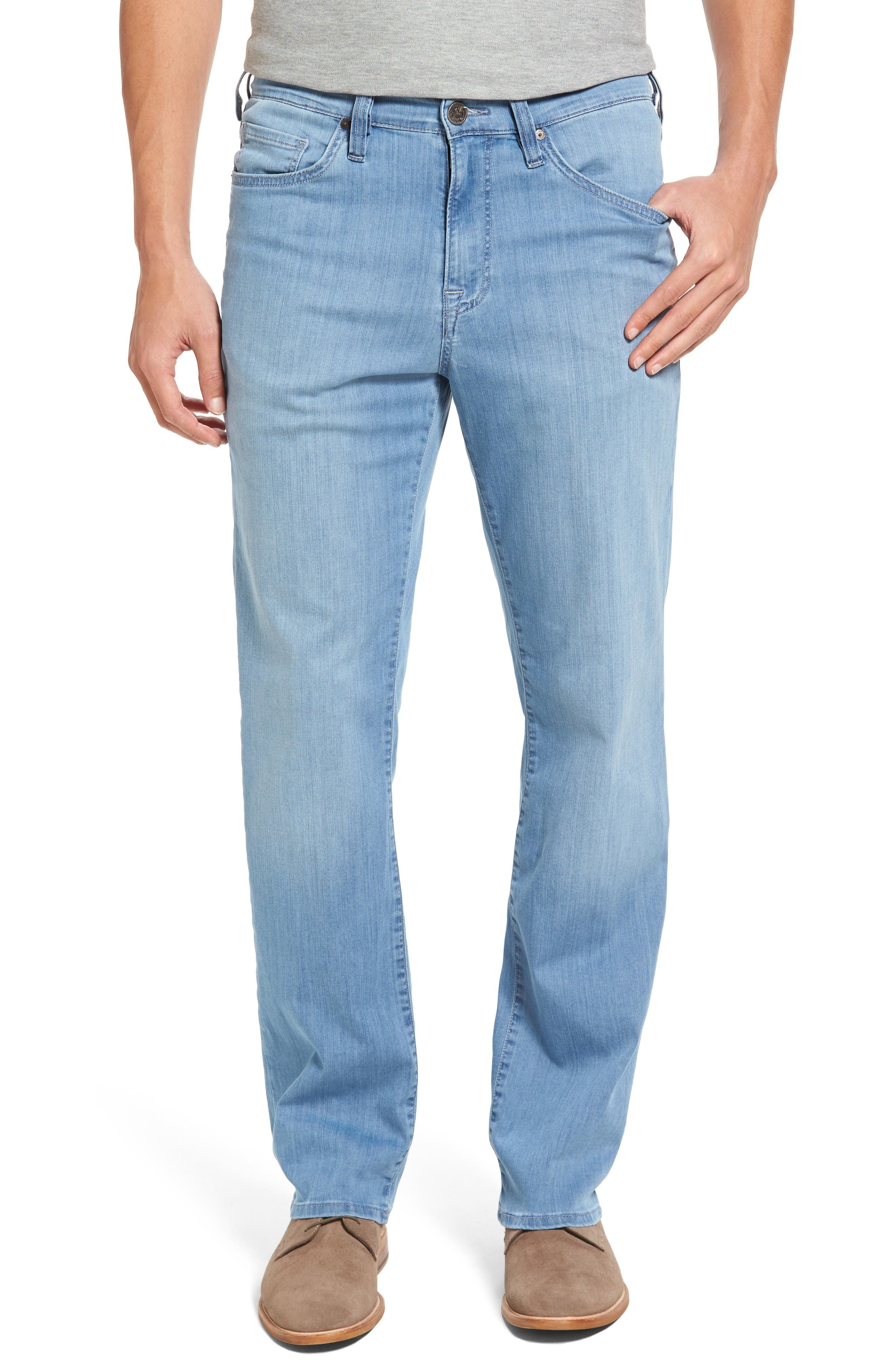 34 Heritage Charisma Relaxed Fit Jeans (Sky Summer) (Regular & Tall)