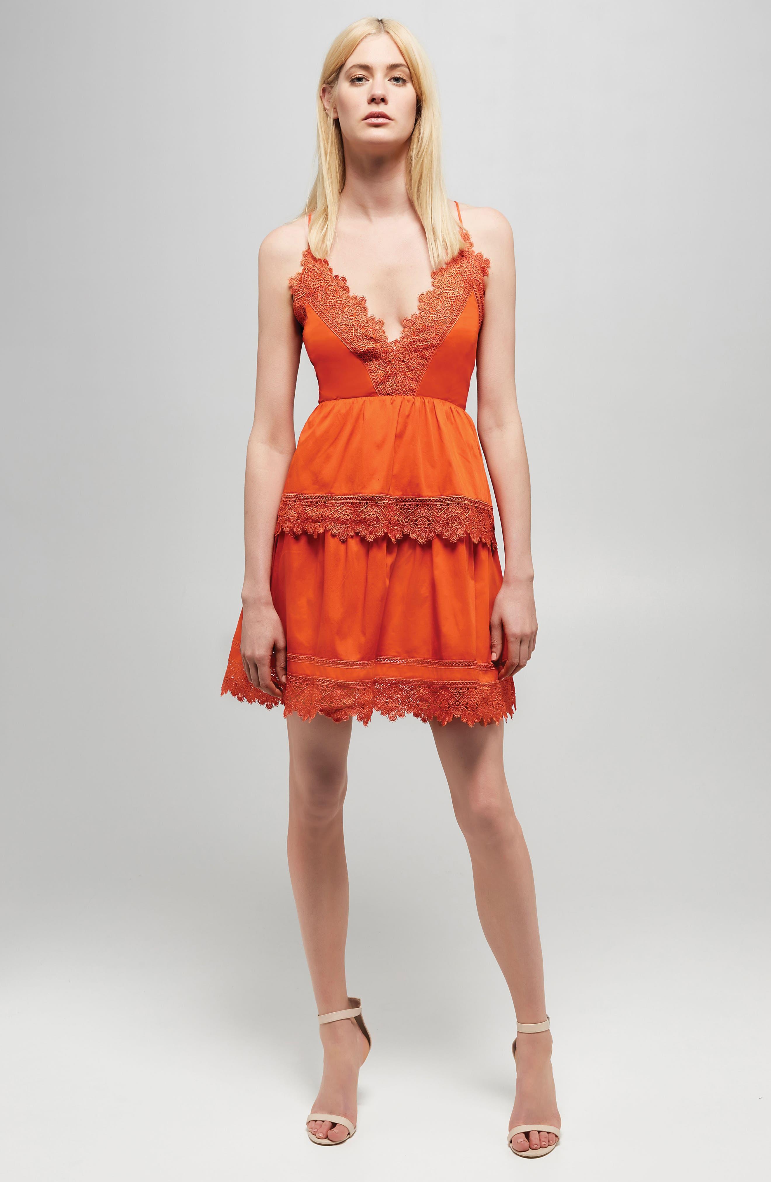 Alternate Image 2  - Bardot Sophia Peplum Dress