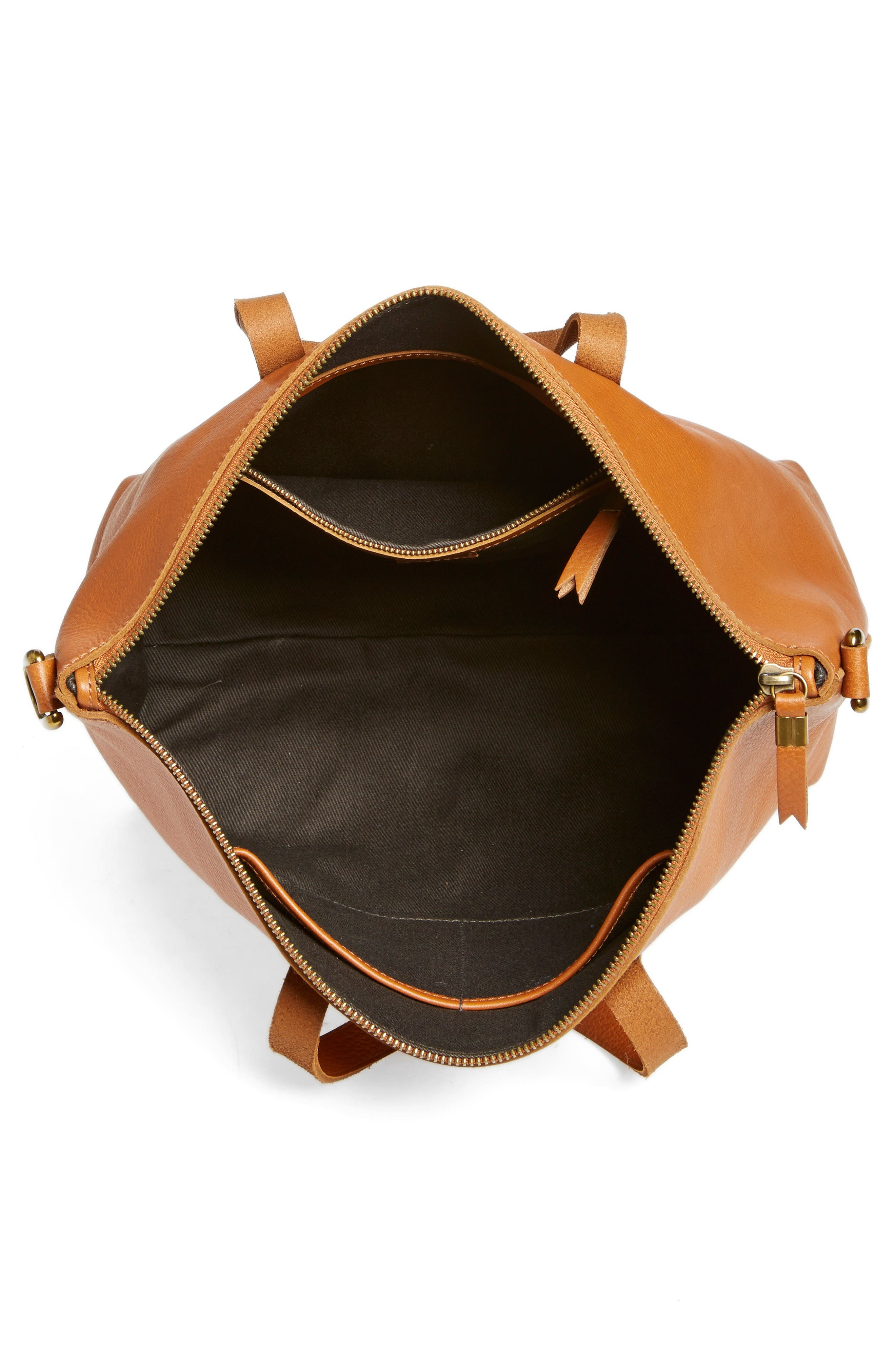 Alternate Image 4  - Madewell Leather Transport Satchel