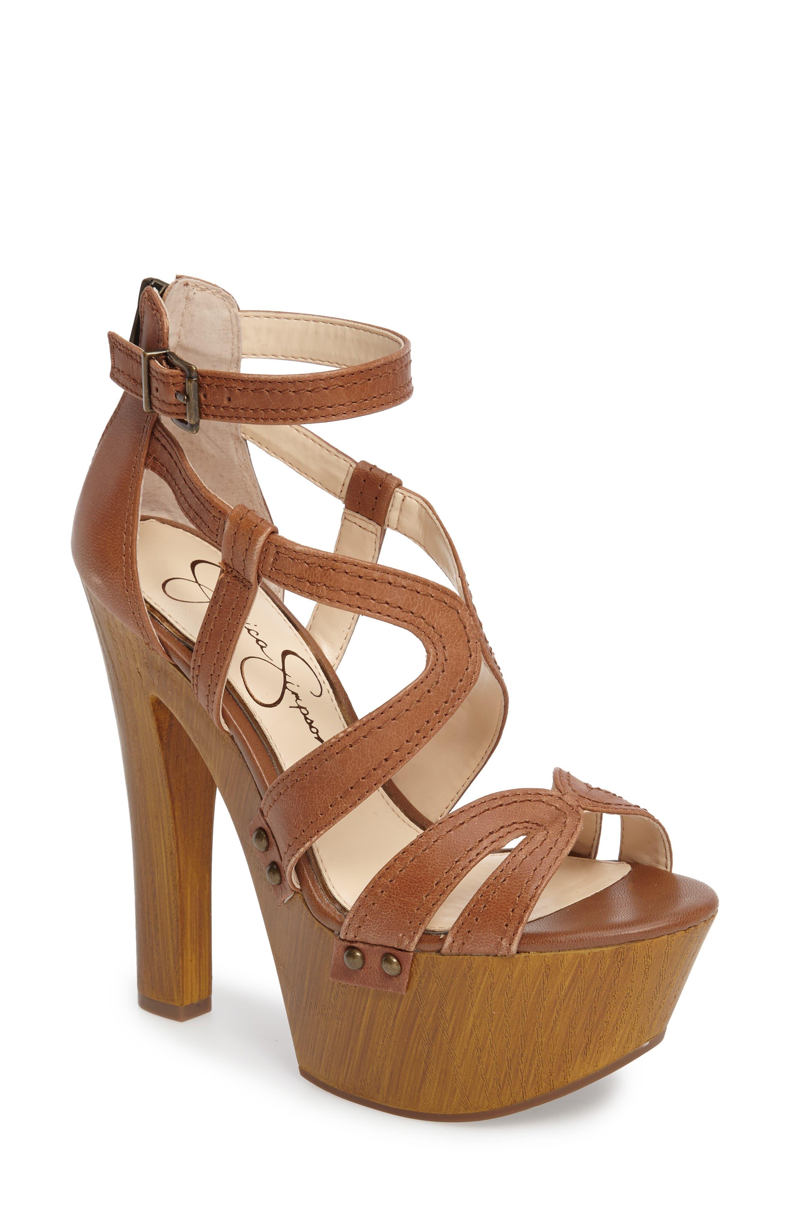 Jessica Simpson Dorrin Platform Sandal (Women)