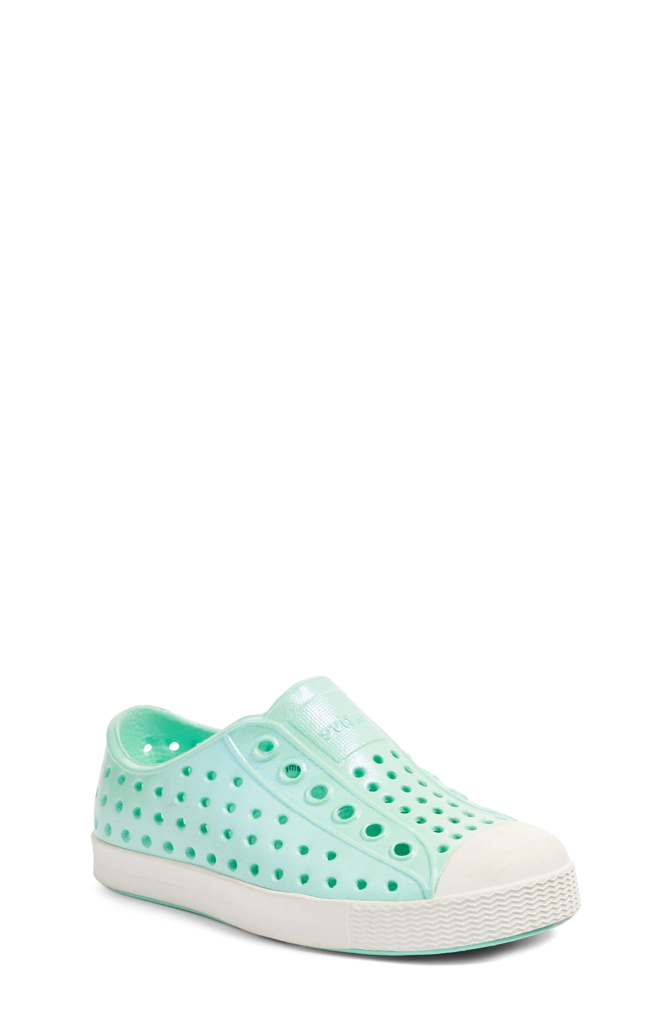Main Image - Native Shoes 'Jefferson' Iridescent Slip-On Sneaker (Baby, Walker, Toddler & Little Kid)