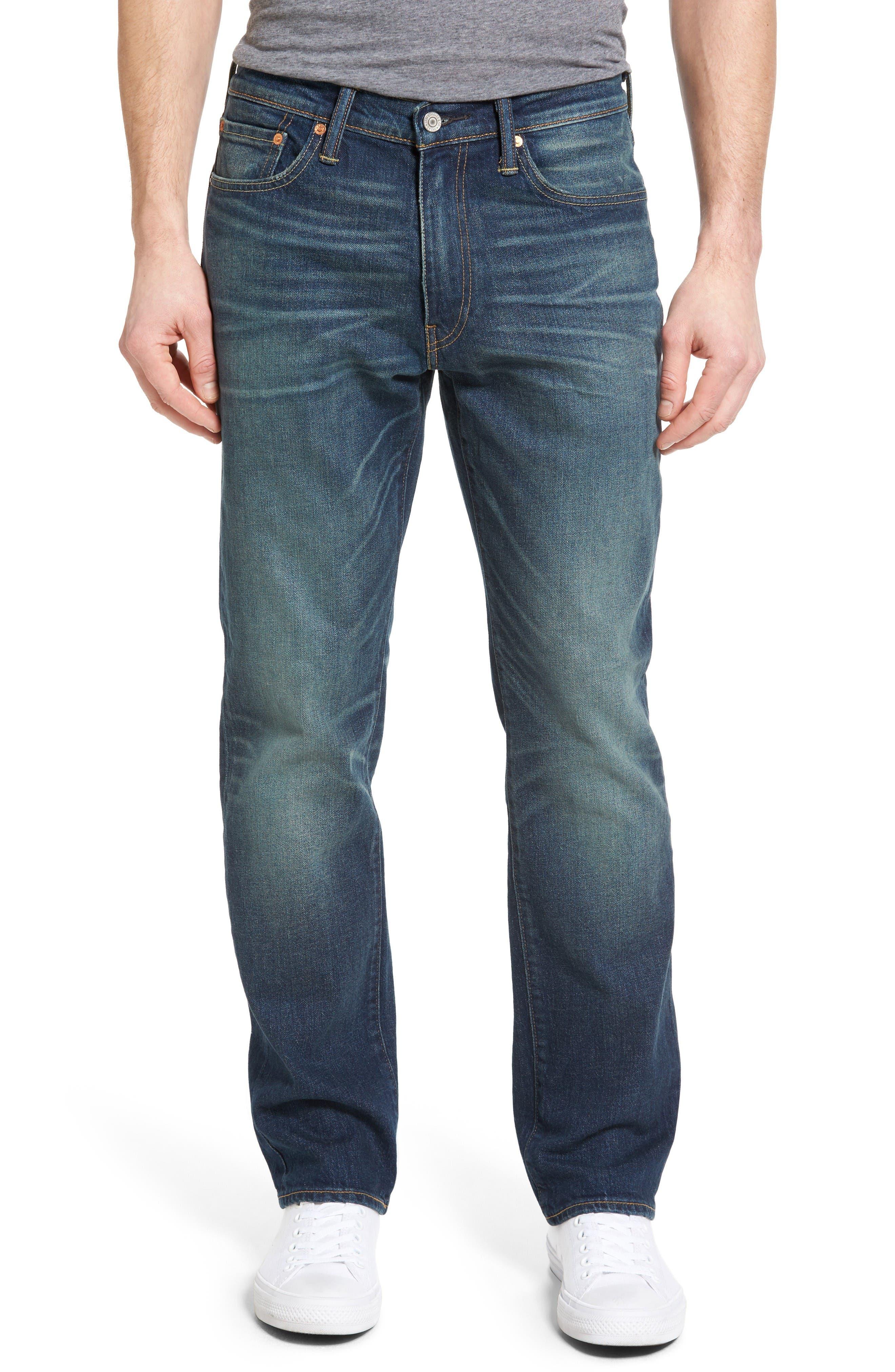 Levi's® 541™ Athletic Straight Leg Jeans (Sable Star)