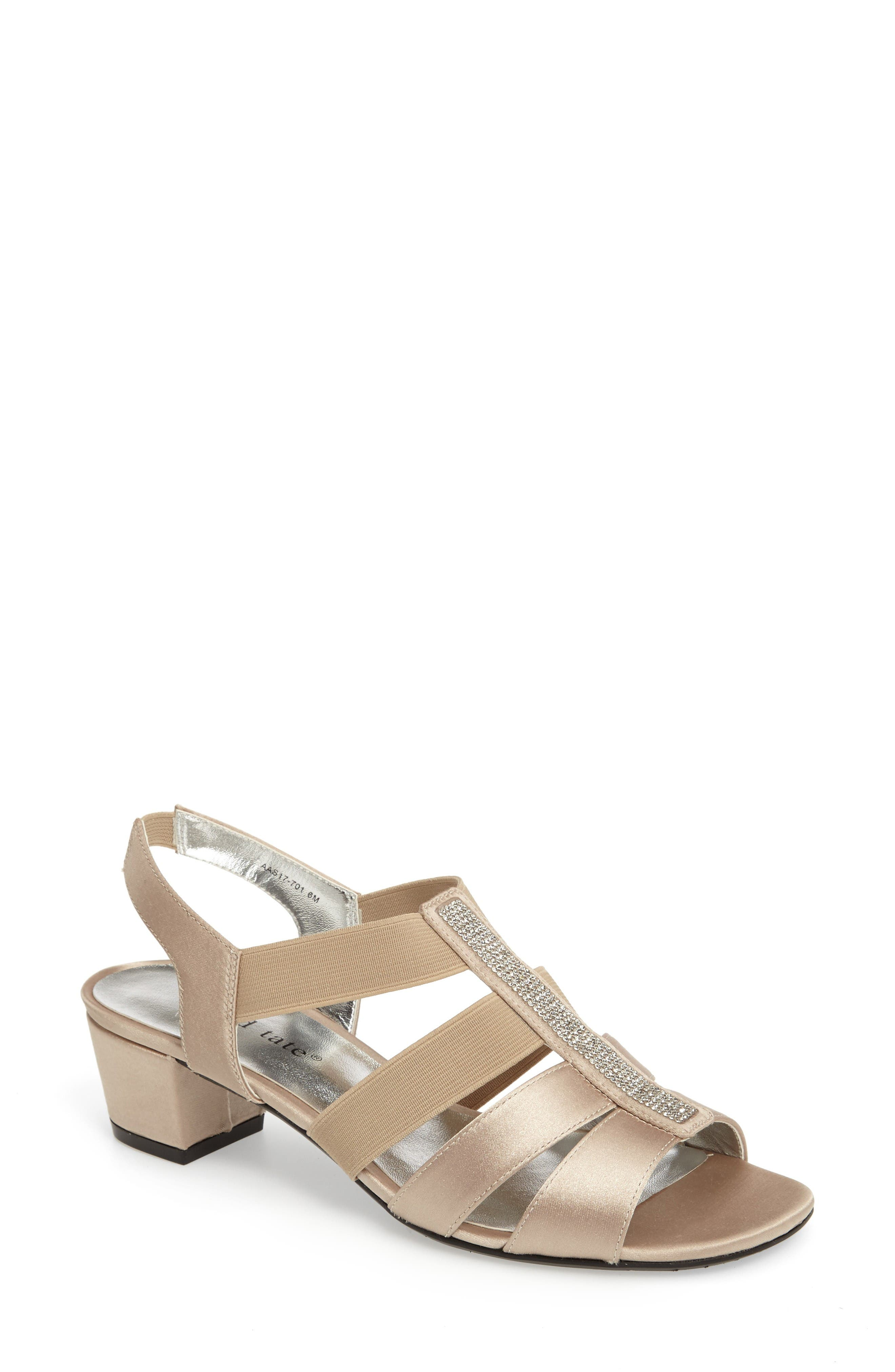 David Tate Eve Embellished Sandal (Women)