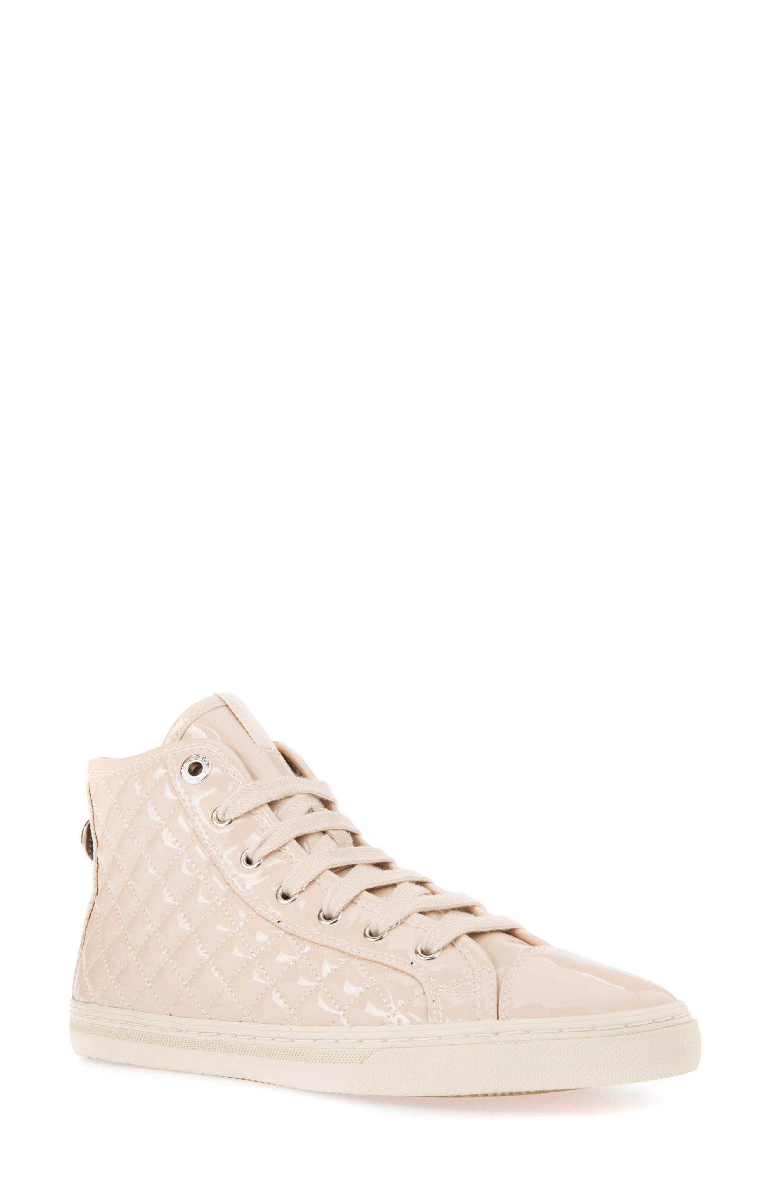 Geox 'New Club' High Top Sneaker (Women)