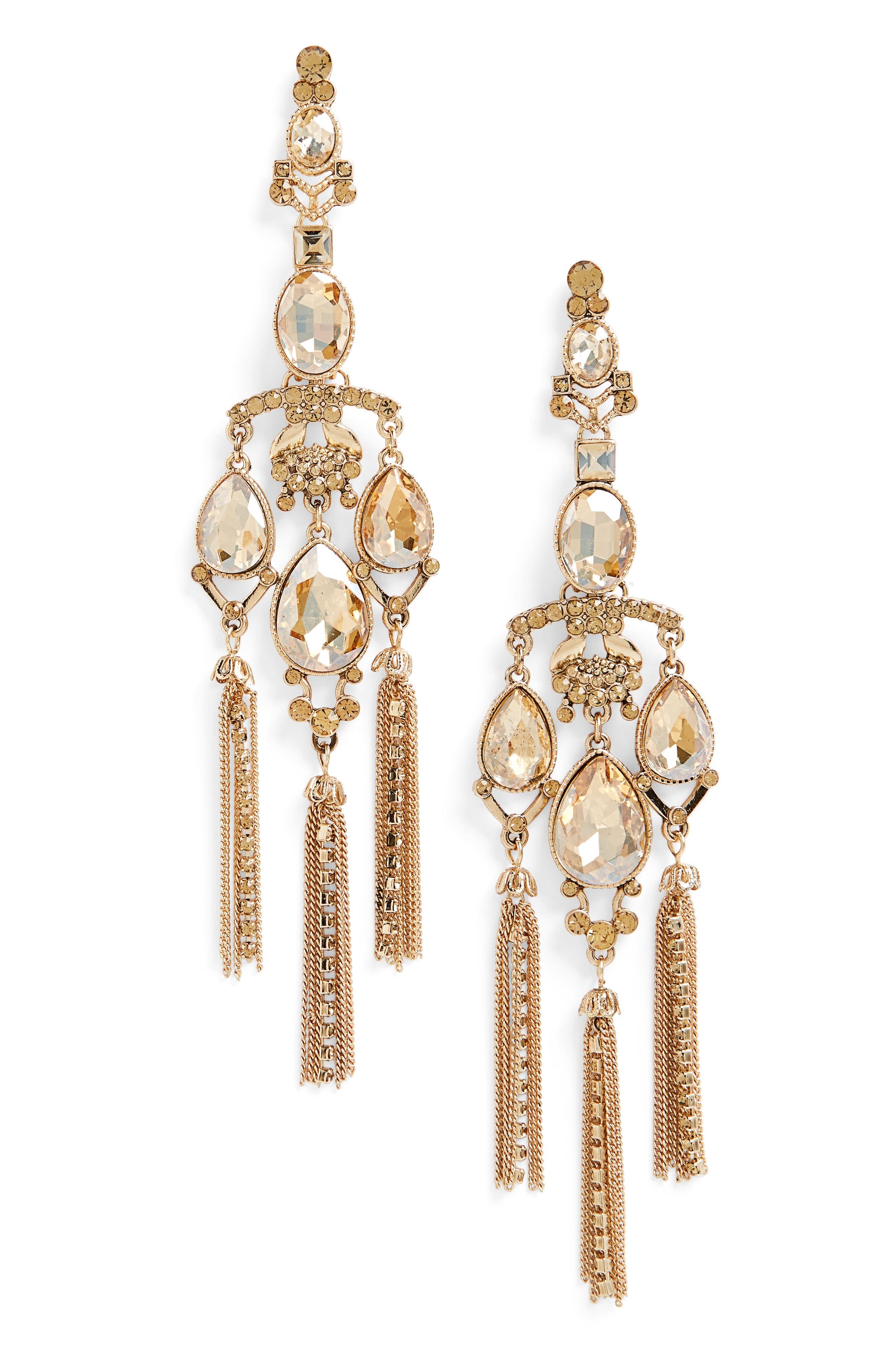 Alternate Image 1 Selected - Tasha Shoulder Duster Earrings