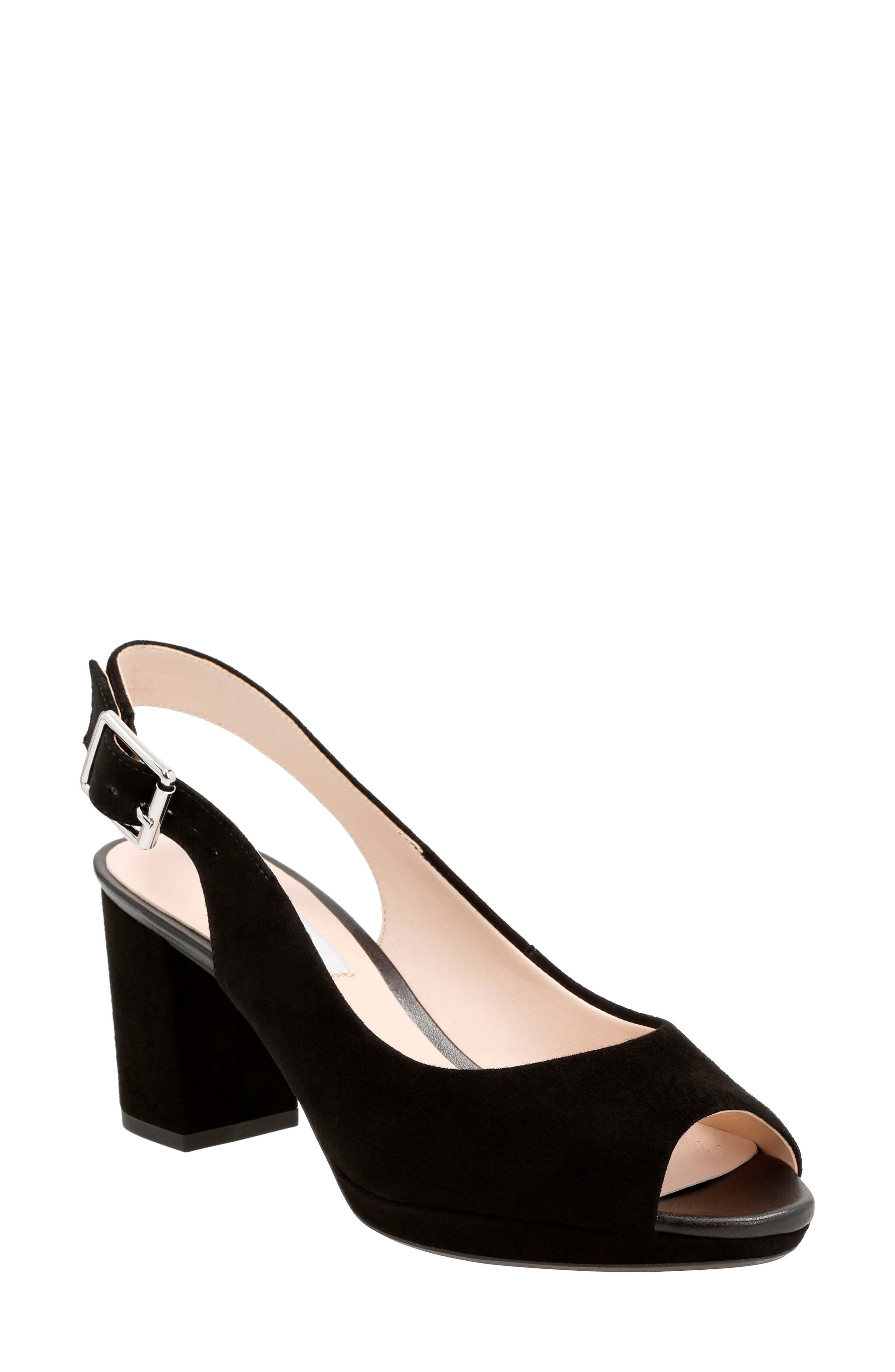 Clarks® Kelda Slingback Sandal (Women)