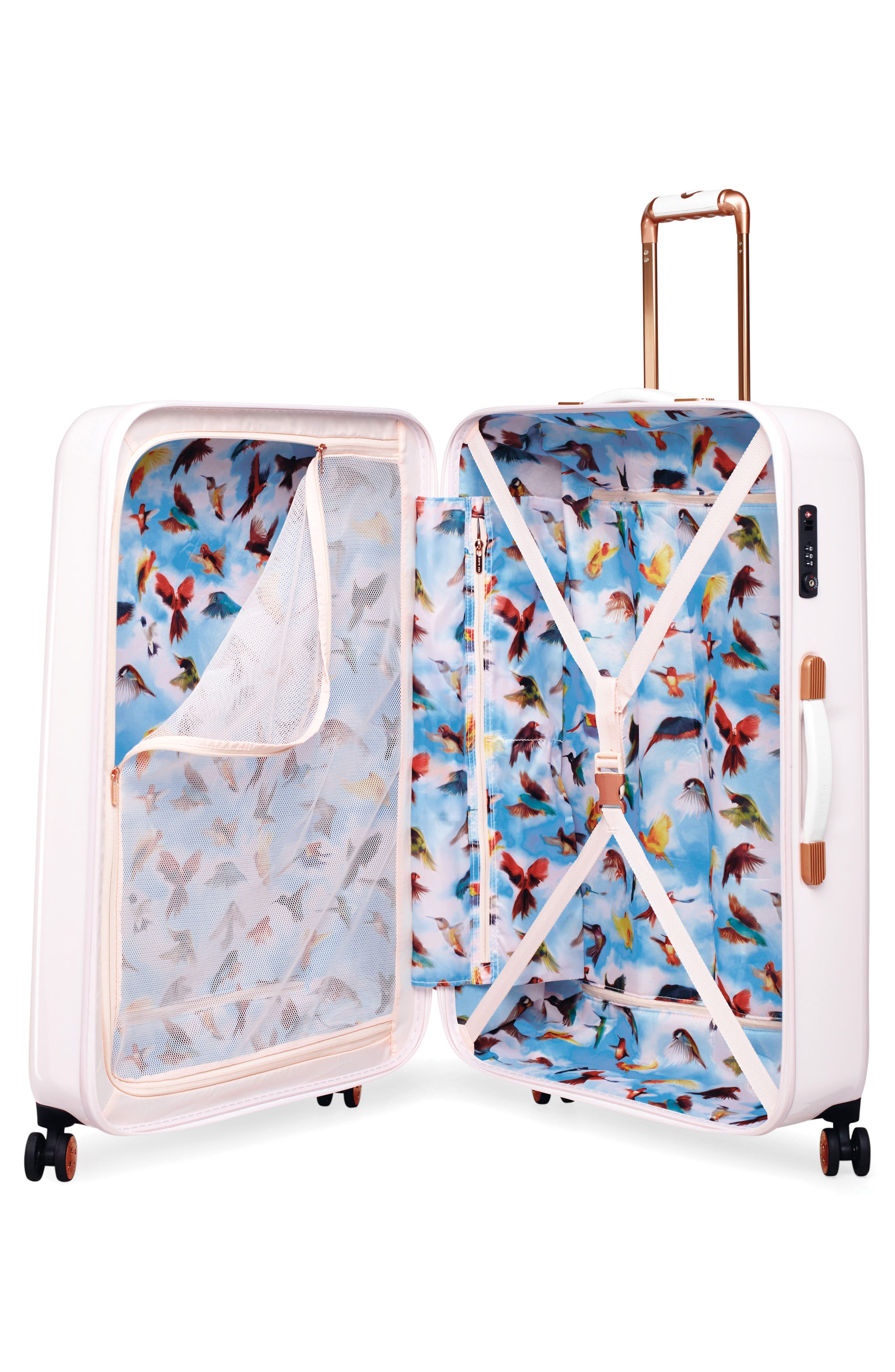 Alternate Image 3  - Ted Baker London Large Four-Wheel Suitcase (31 Inches)