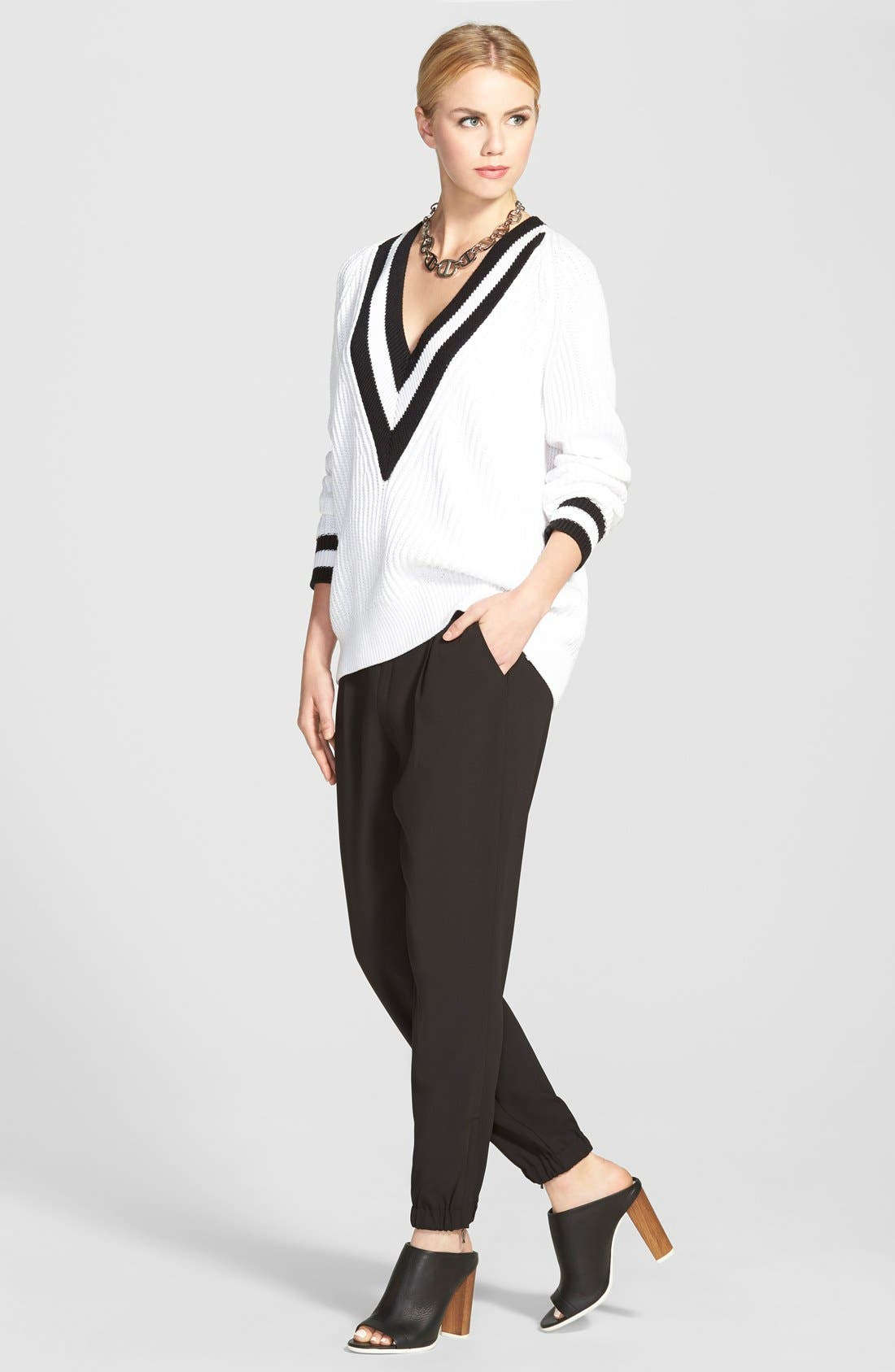 Alternate Image 5  - Trouvé Elastic Cuff Pleated Pants