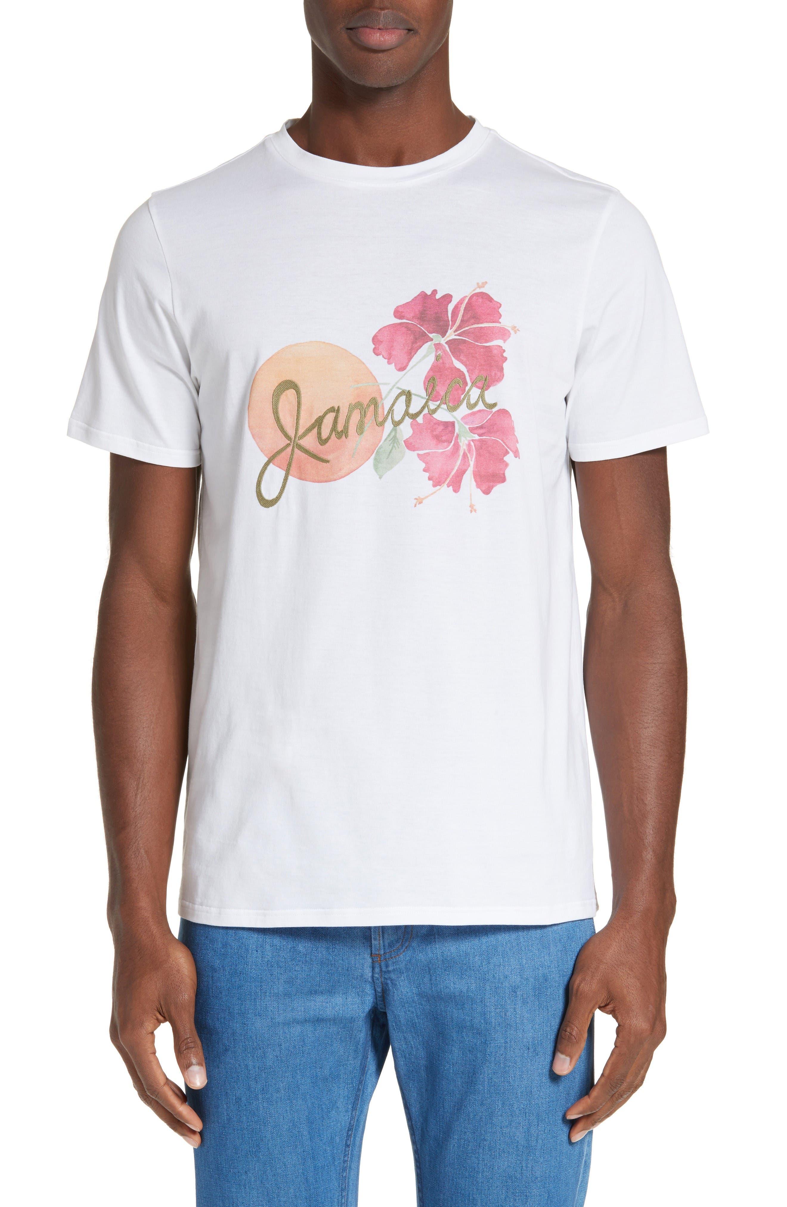 A.P.C. Jamaica Floral Graphic T-Shirt