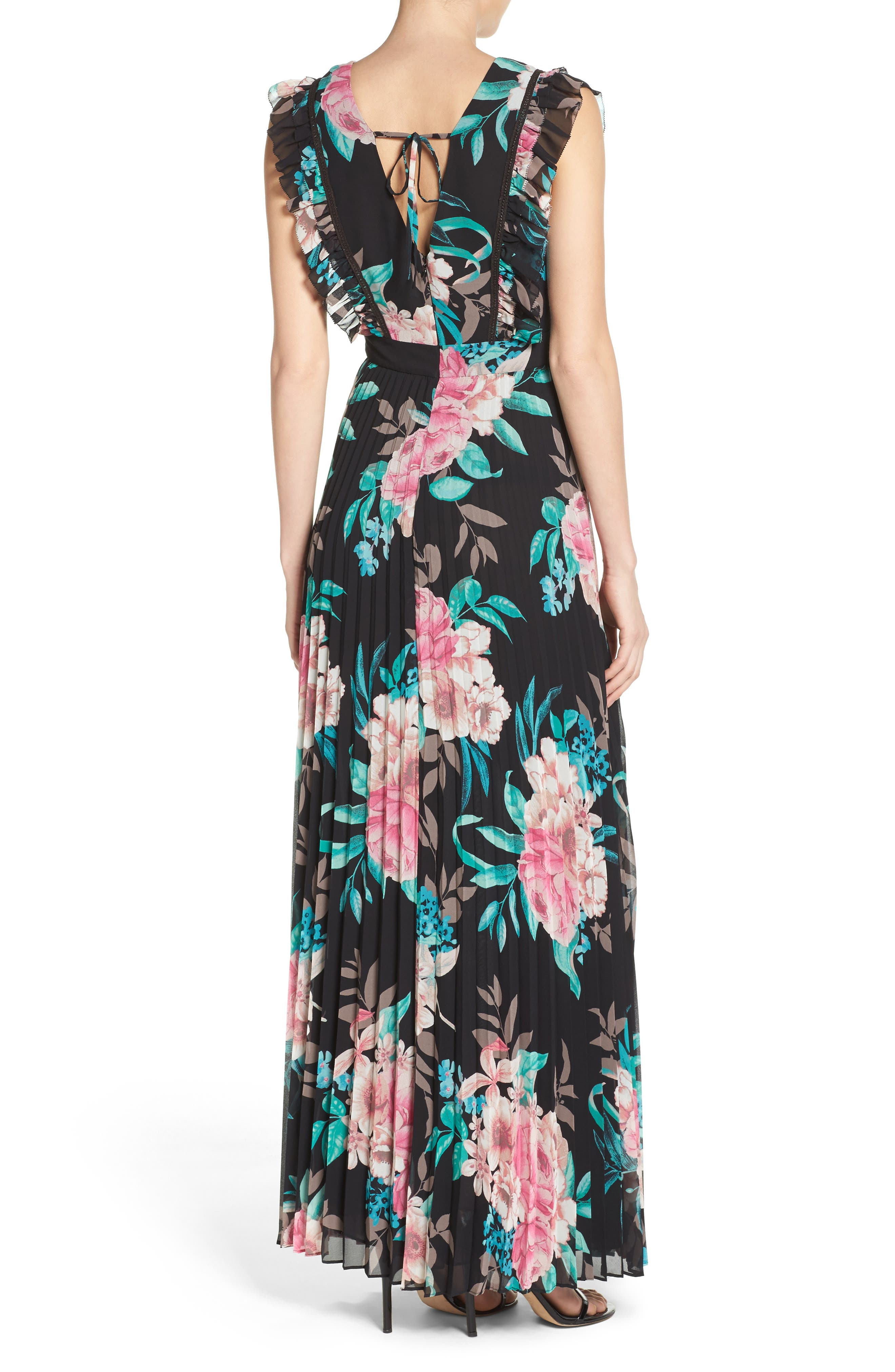 Alternate Image 2  - Eliza J Ruffle Maxi Dress