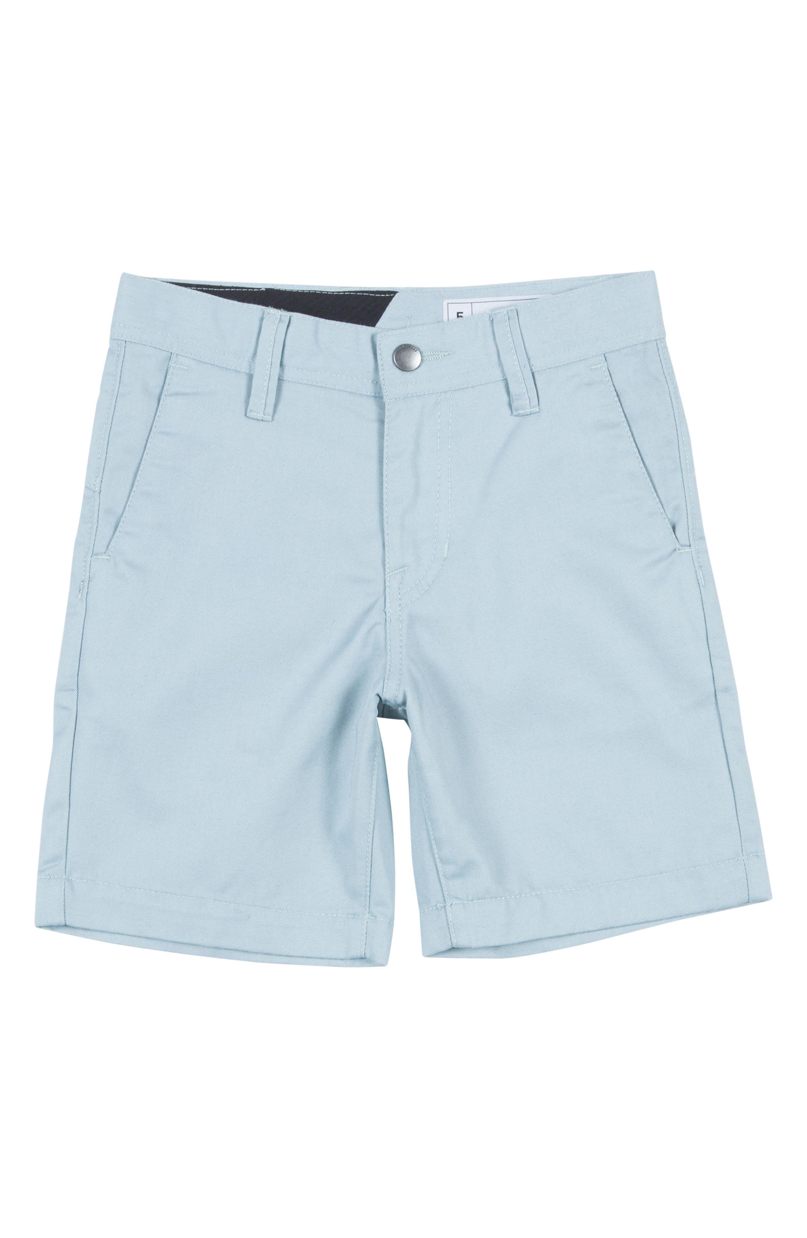Alternate Image 1 Selected - Volcom 'Modern' Chino Shorts (Toddler Boys & Little Boys)