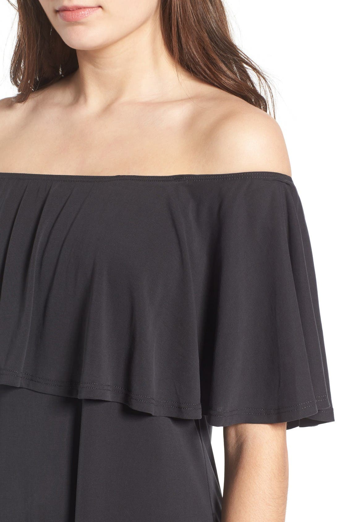 Alternate Image 4  - BP. Off the Shoulder Ruffle Dress