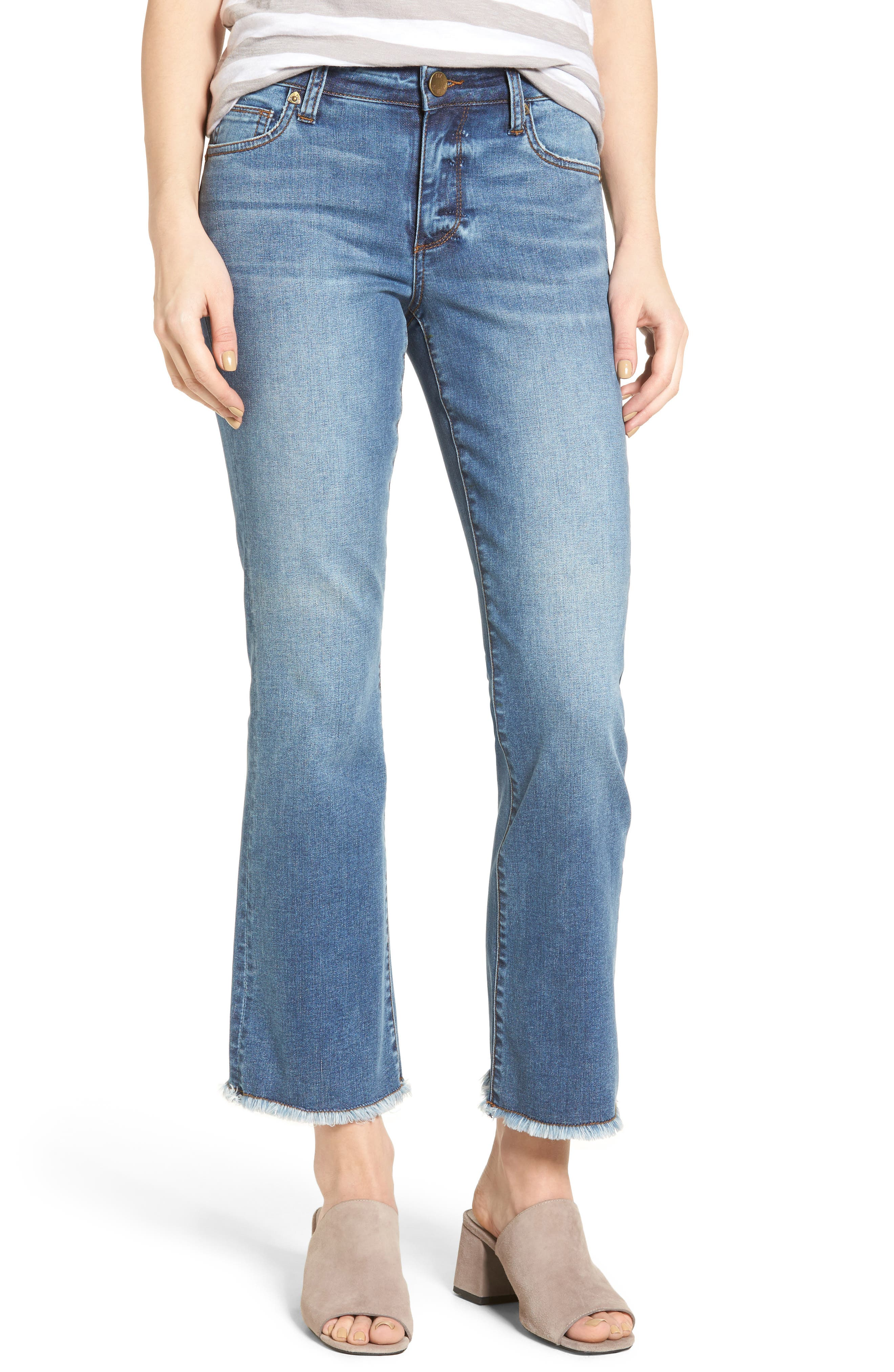 KUT FROM THE KLOTH Crop Flare Jeans