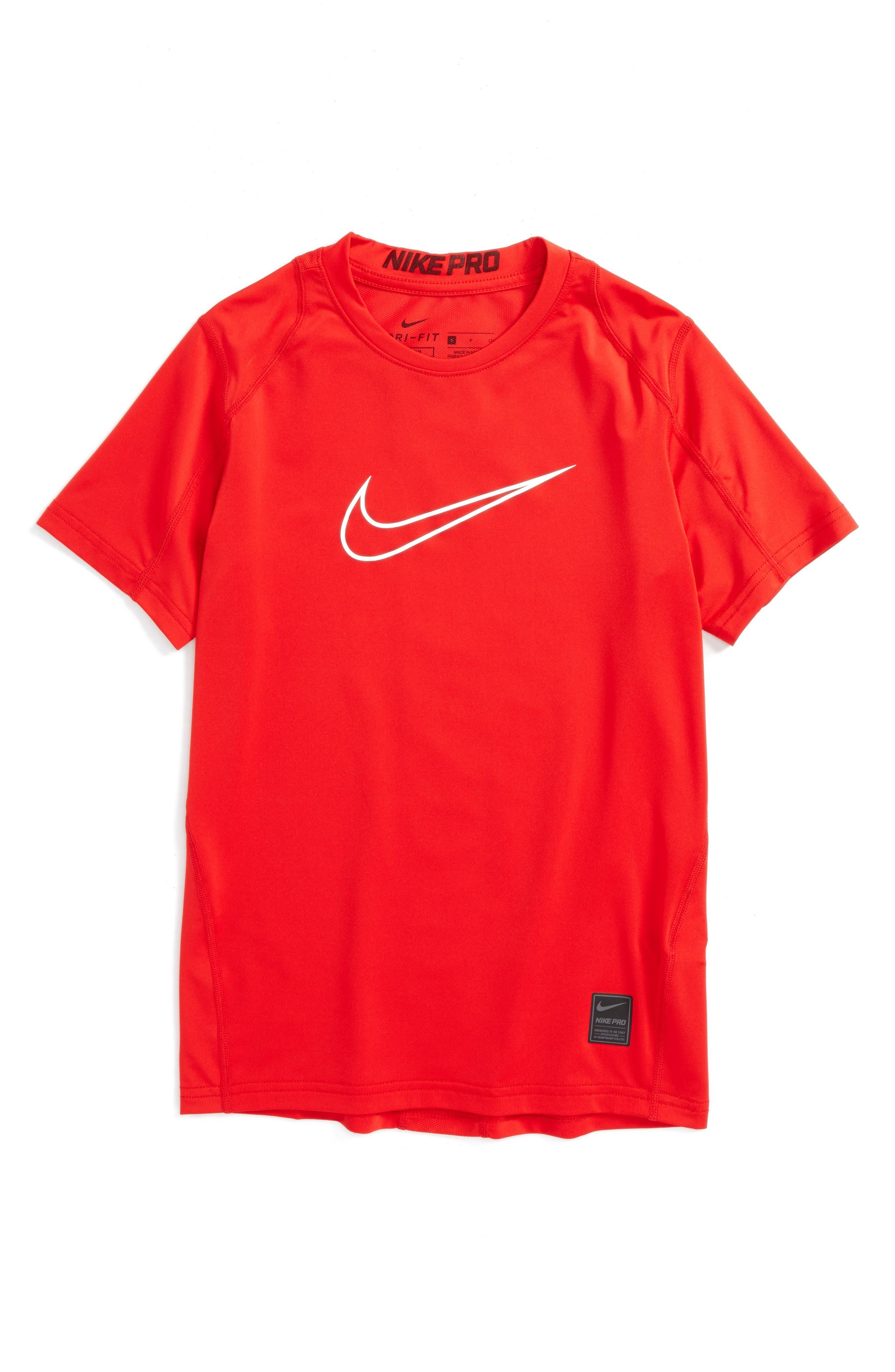 Nike 'Pro Cool Fitted' T-Shirt (Little Boys & Big Boys)