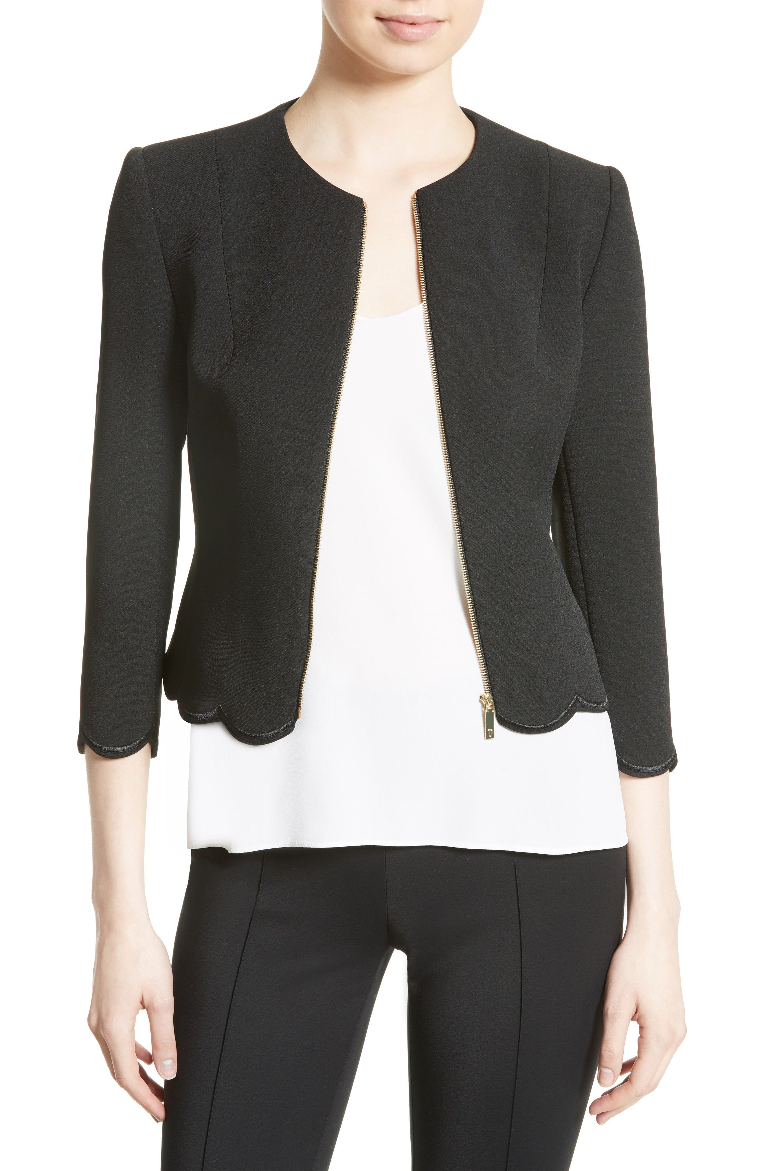 Ted Baker London Heraly Crop Jacket