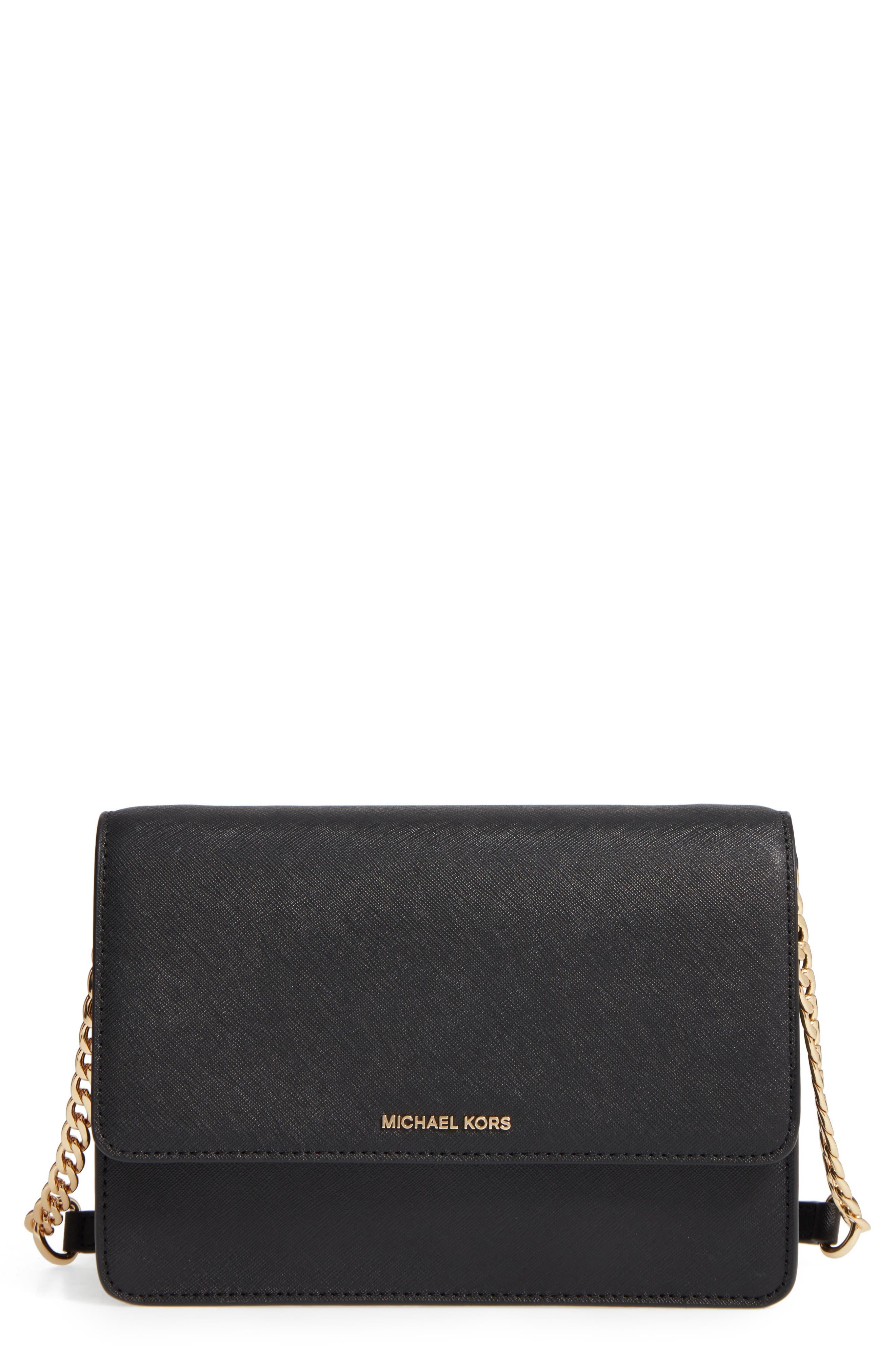 MICHAEL Michael Kors Large Daniela Leather Crossbody Bag