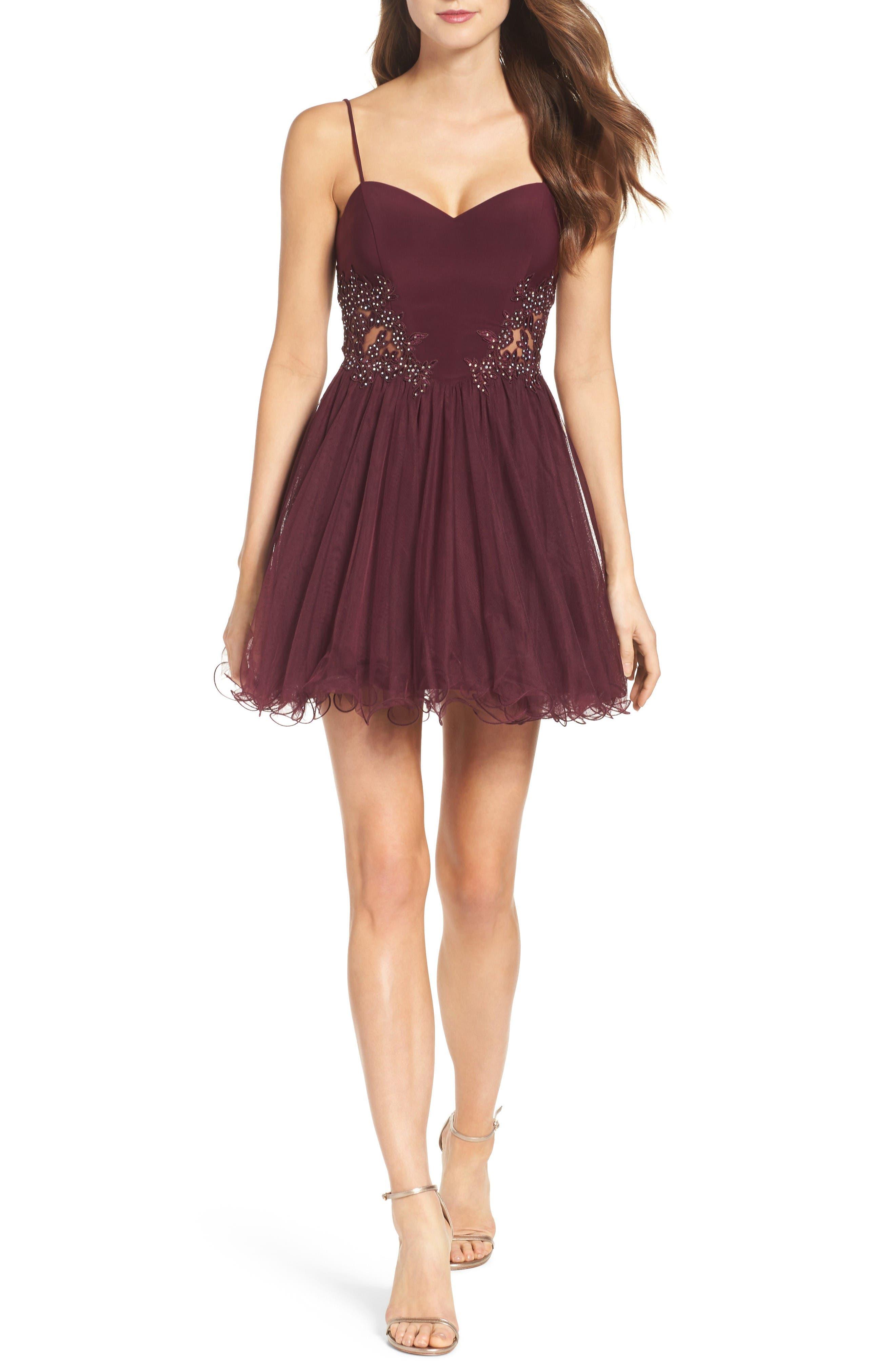 Alternate Image 4  - Blondie Nites Embellished Fit & Flare Dress