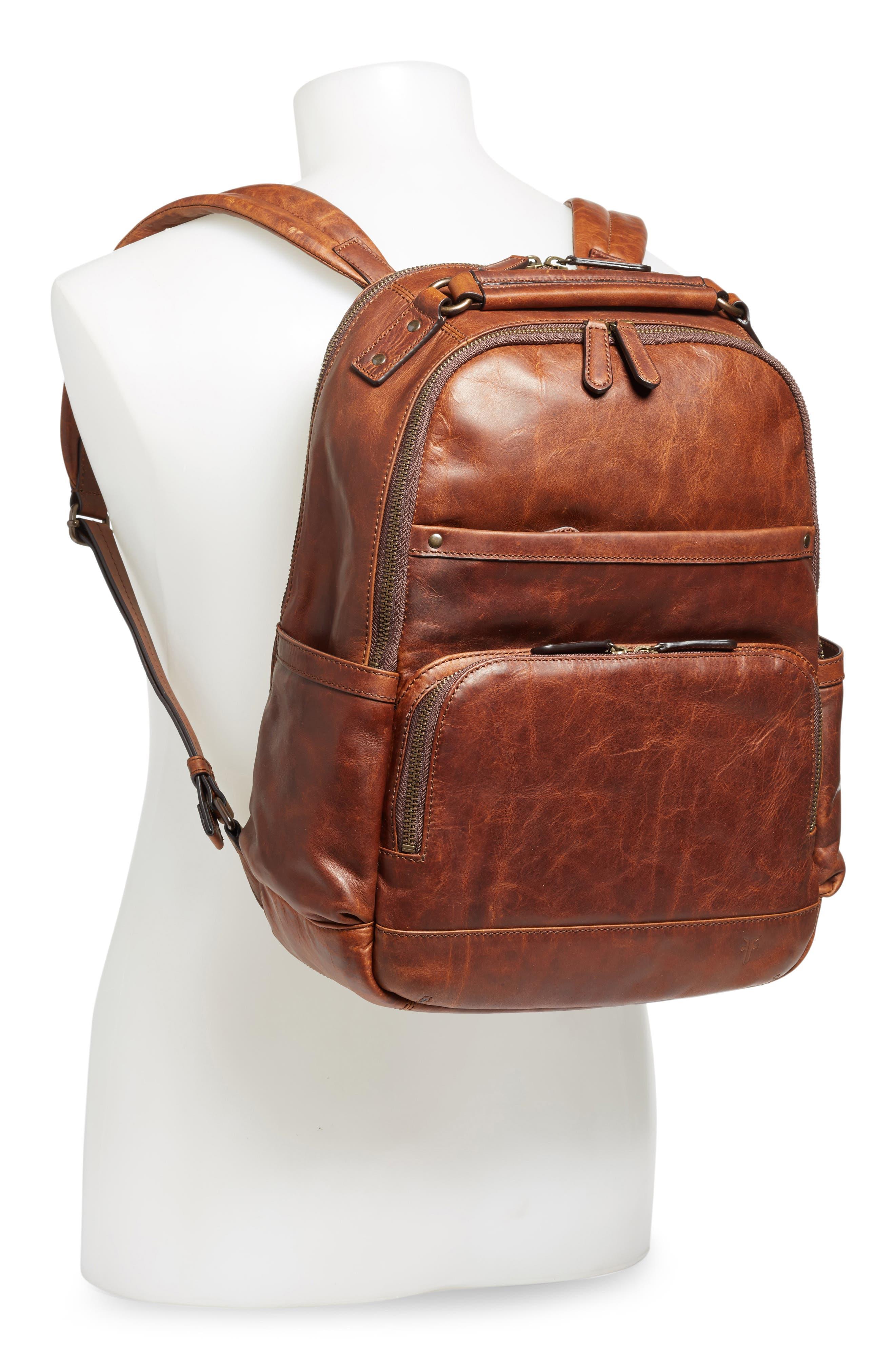 Alternate Image 3  - Frye 'Logan' Leather Backpack