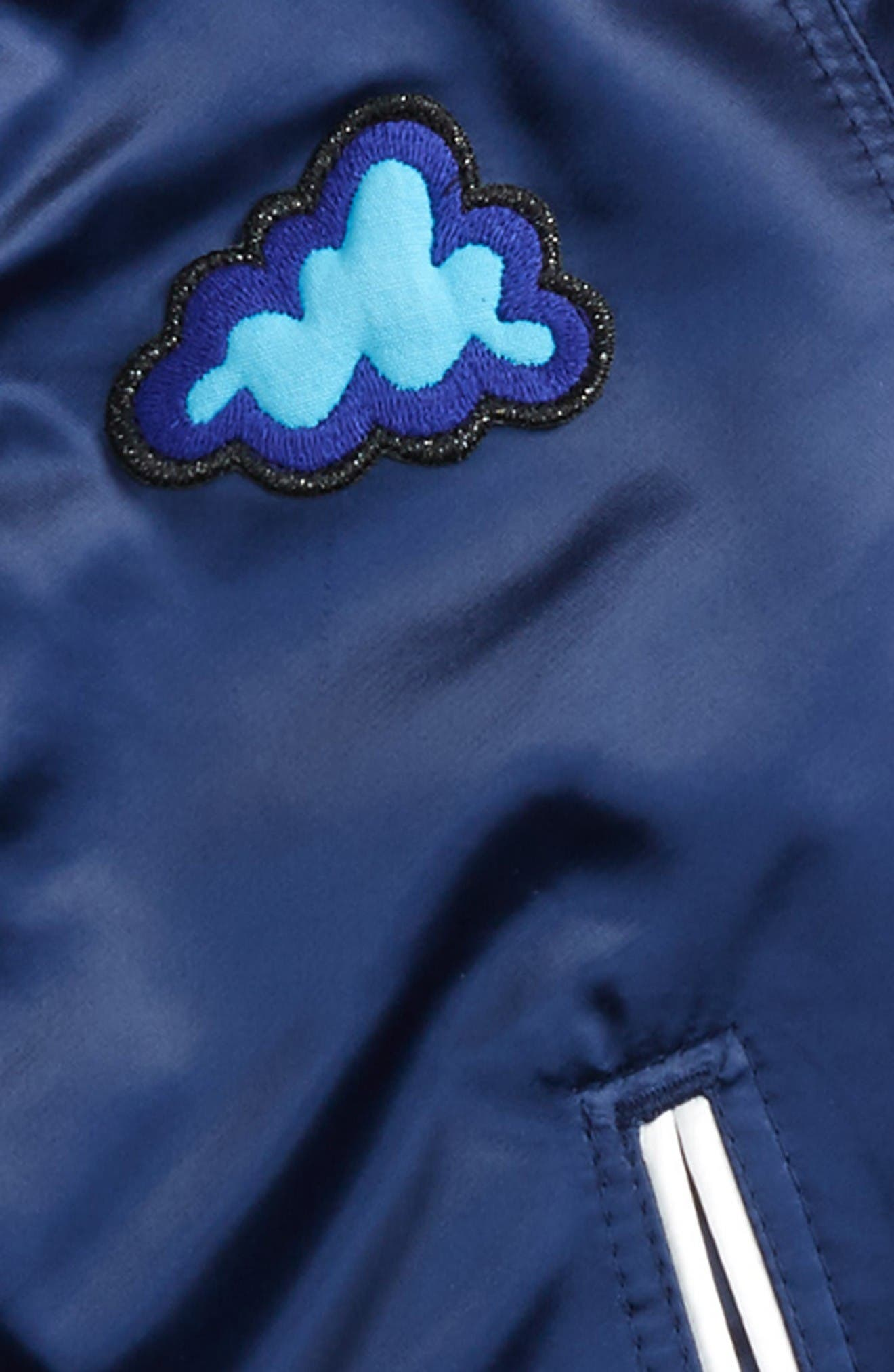 Alternate Image 2  - Burberry Lidington Weather Appliqué Bomber Jacket (Toddler Boys, Little Boys & Big Boys)