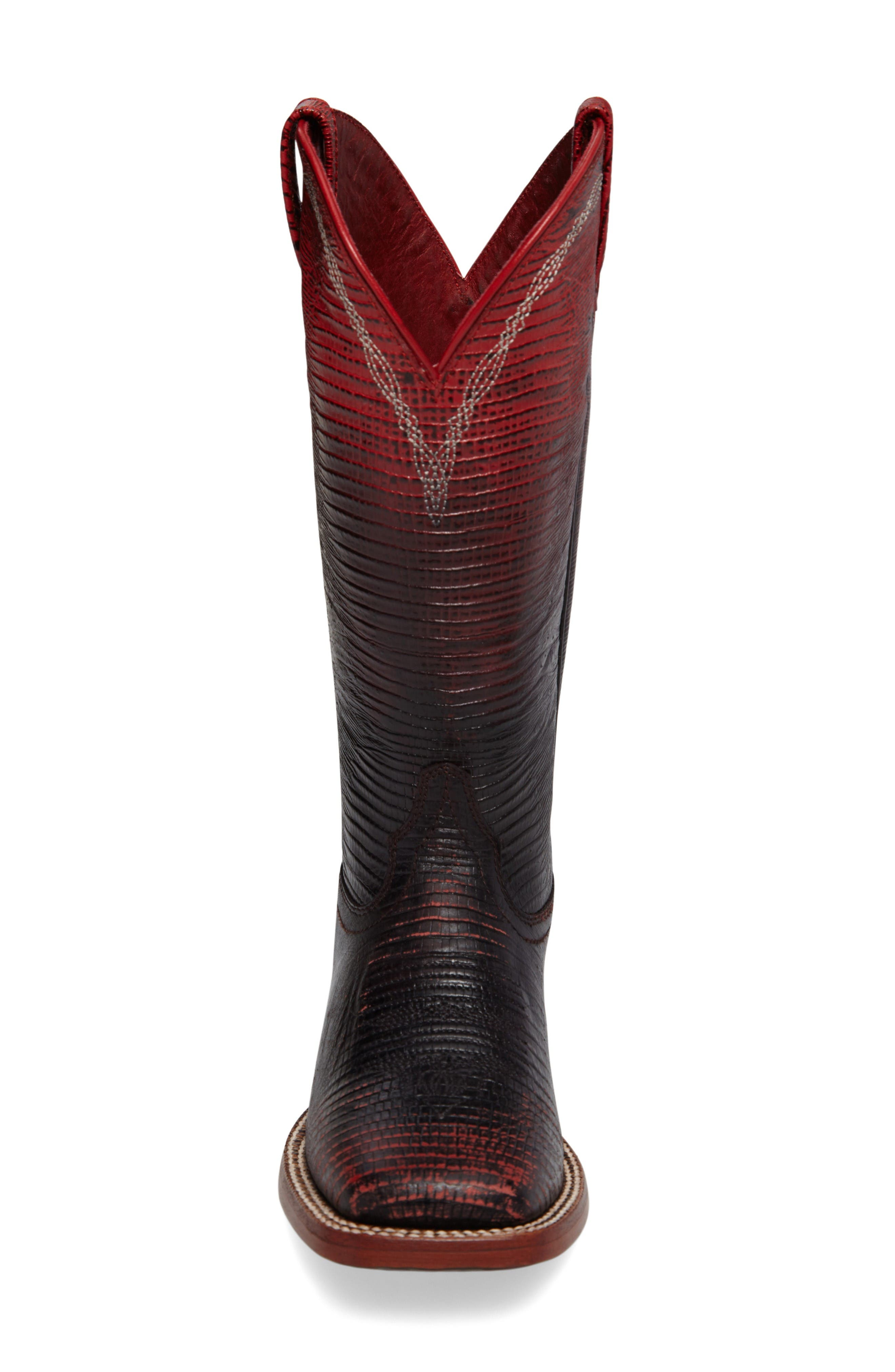 Alternate Image 3  - Ariat Ombré Square Toe Western Boot (Women)