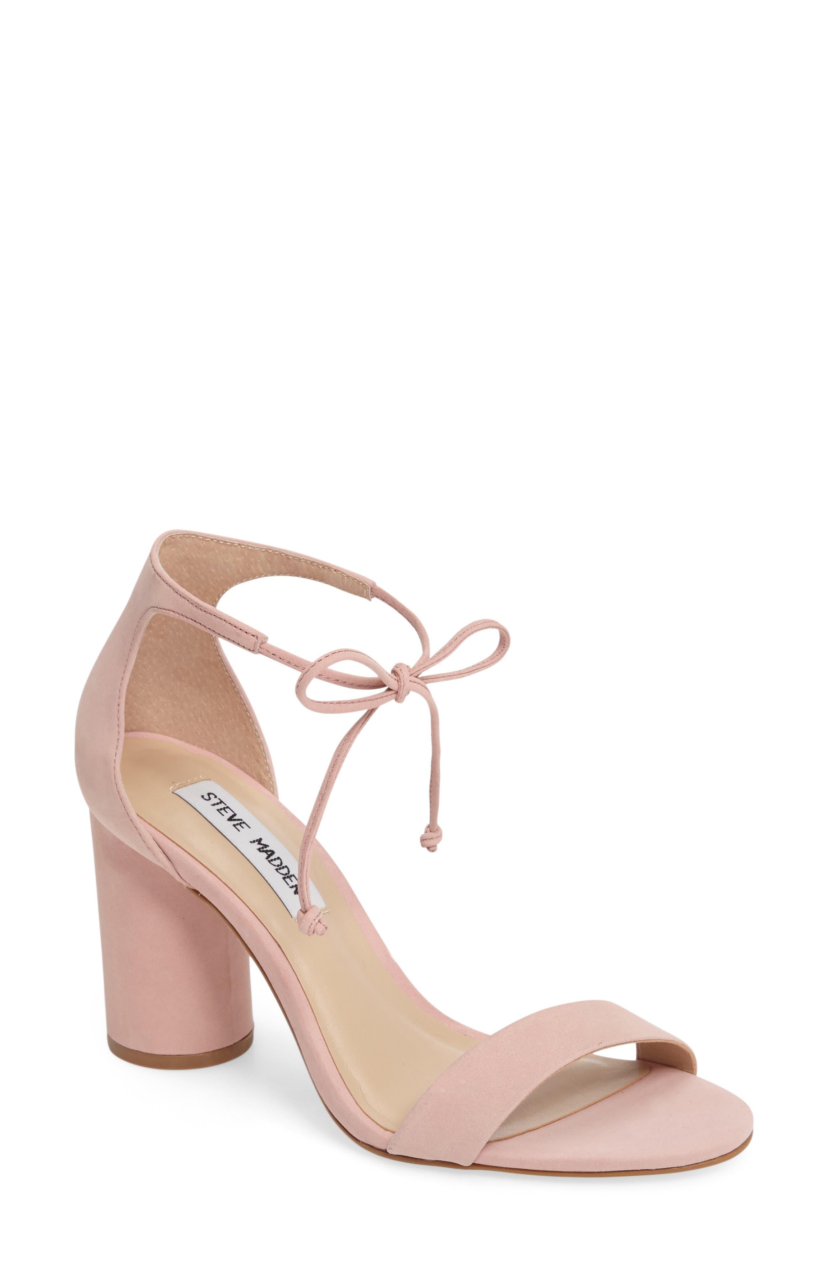 Alternate Image 1 Selected - Steve Madden Shays Lace-Up Sandal (Women)