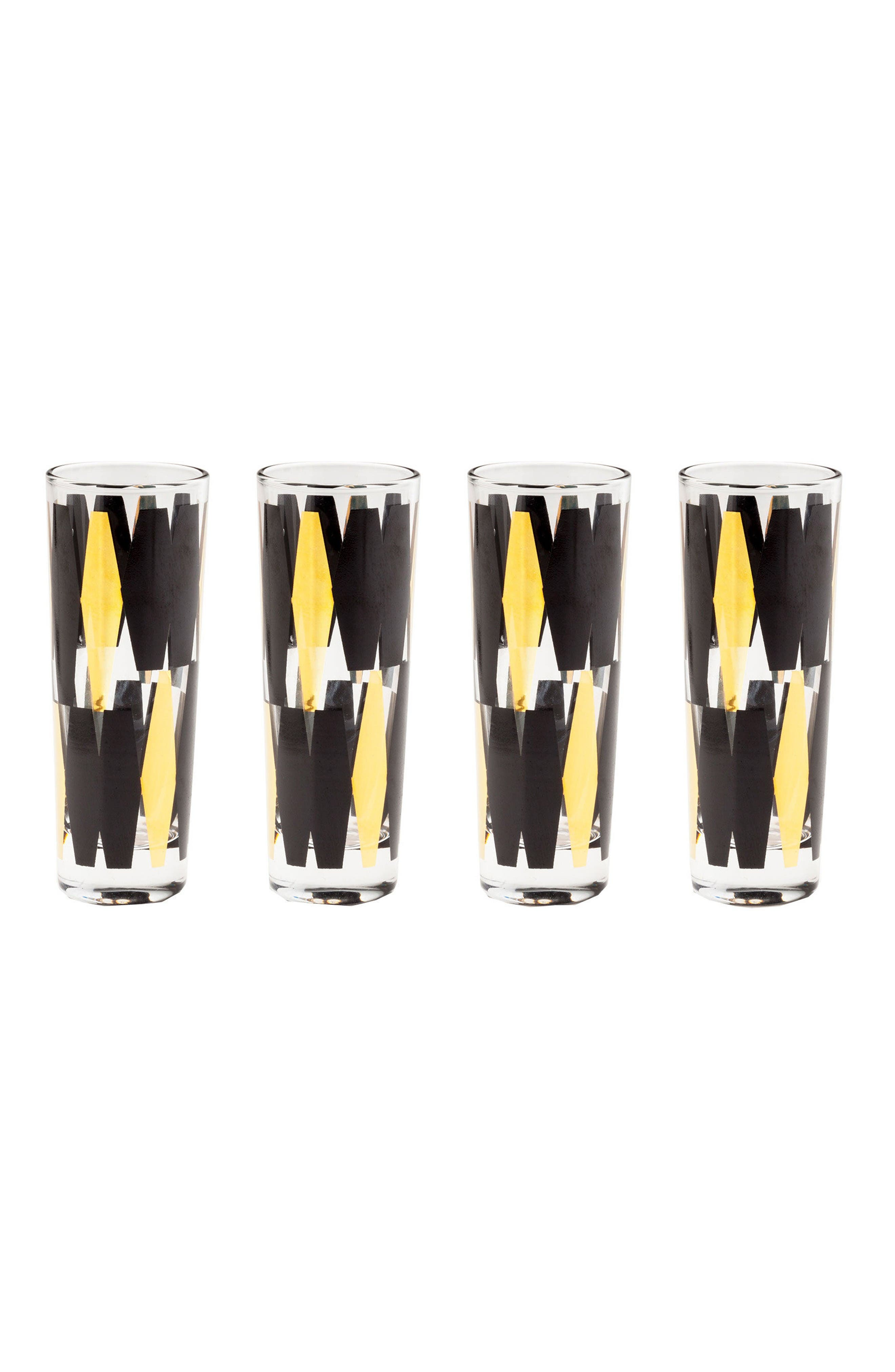 Rosanna Monte Carlo Set of 4 Shot Glasses