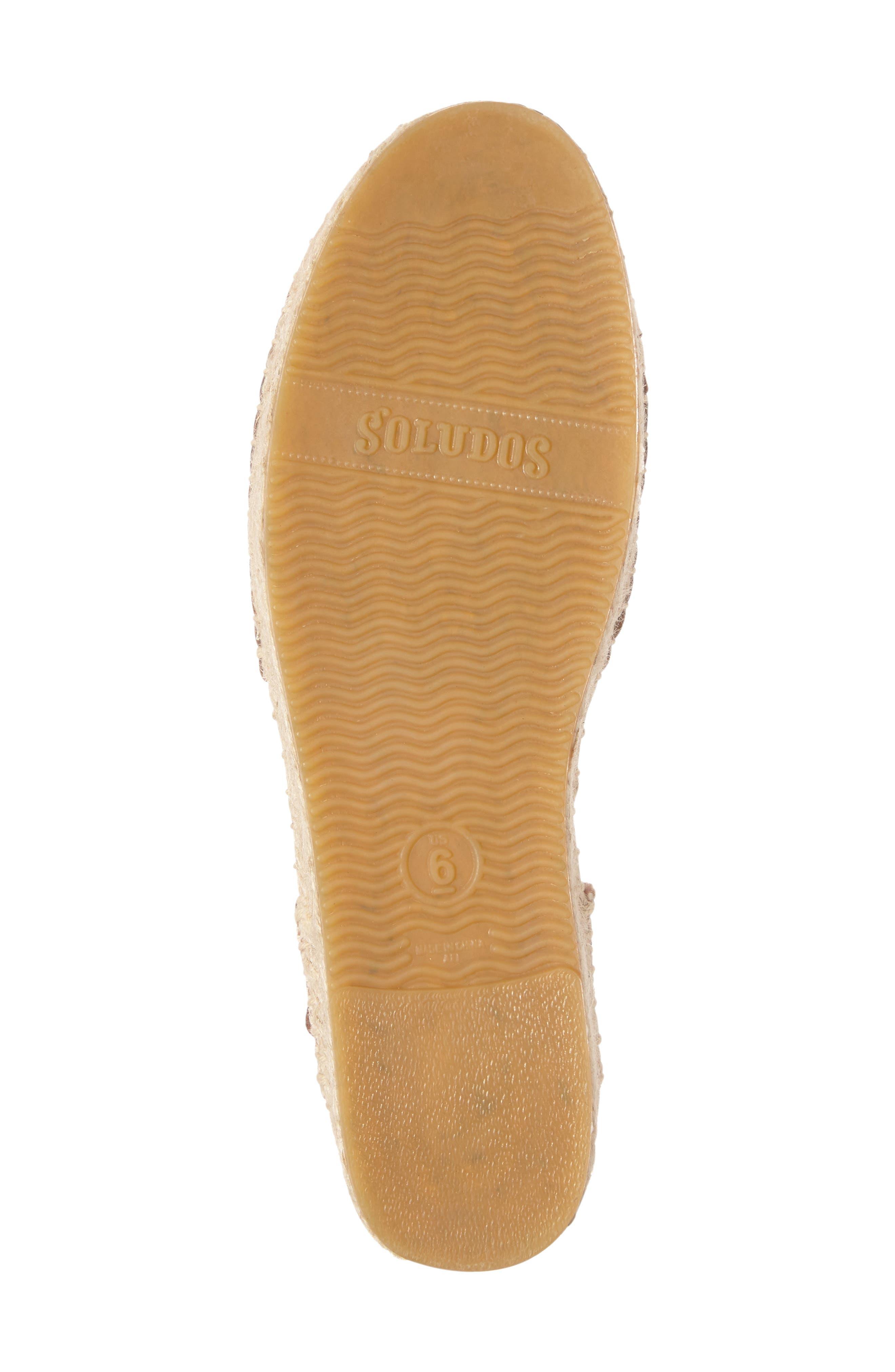 Alternate Image 4  - Soludos Platform Sandal (Women)
