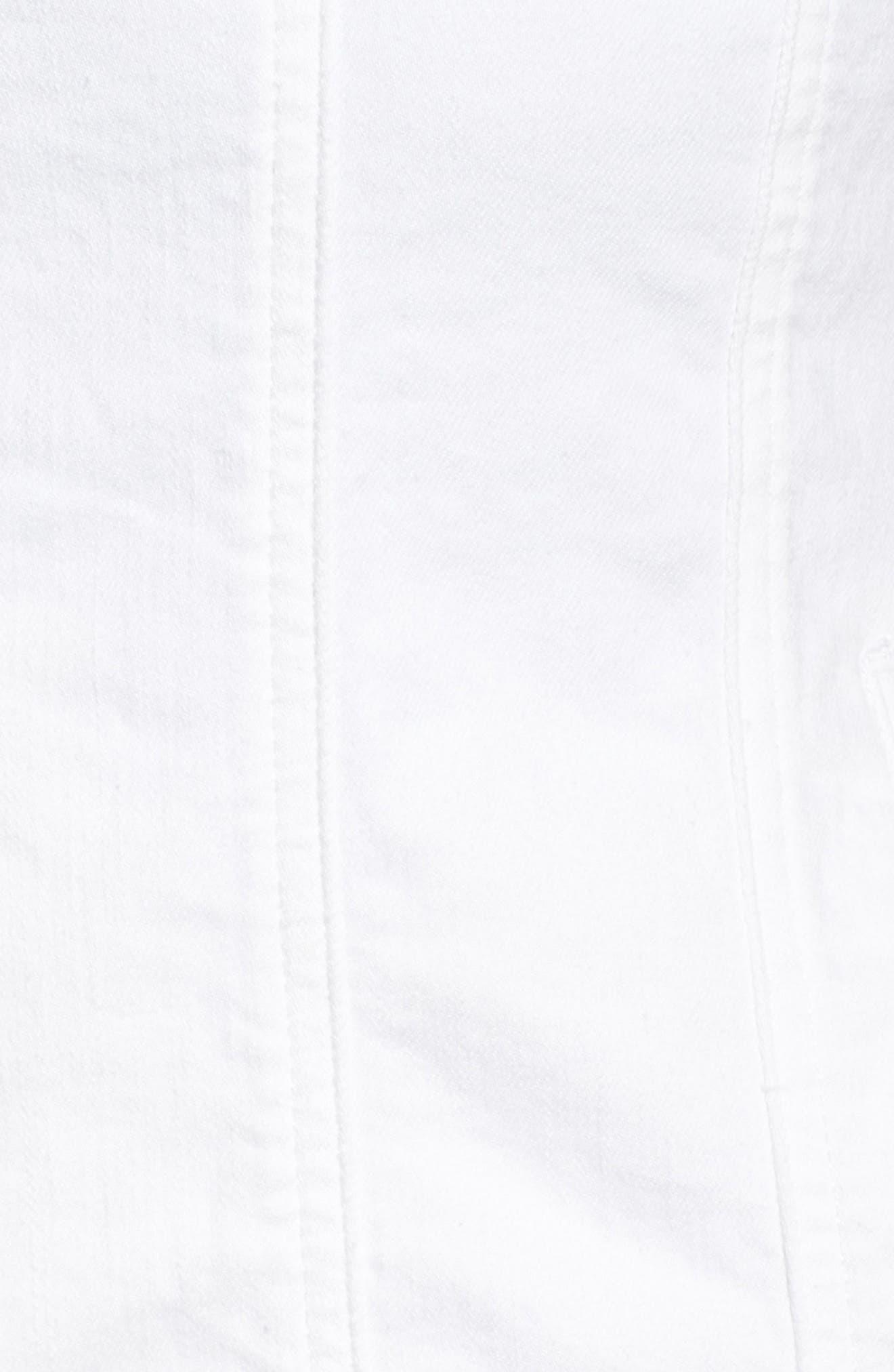 Alternate Image 5  - Lucky Brand Floral Trucker Jacket (Plus Size)