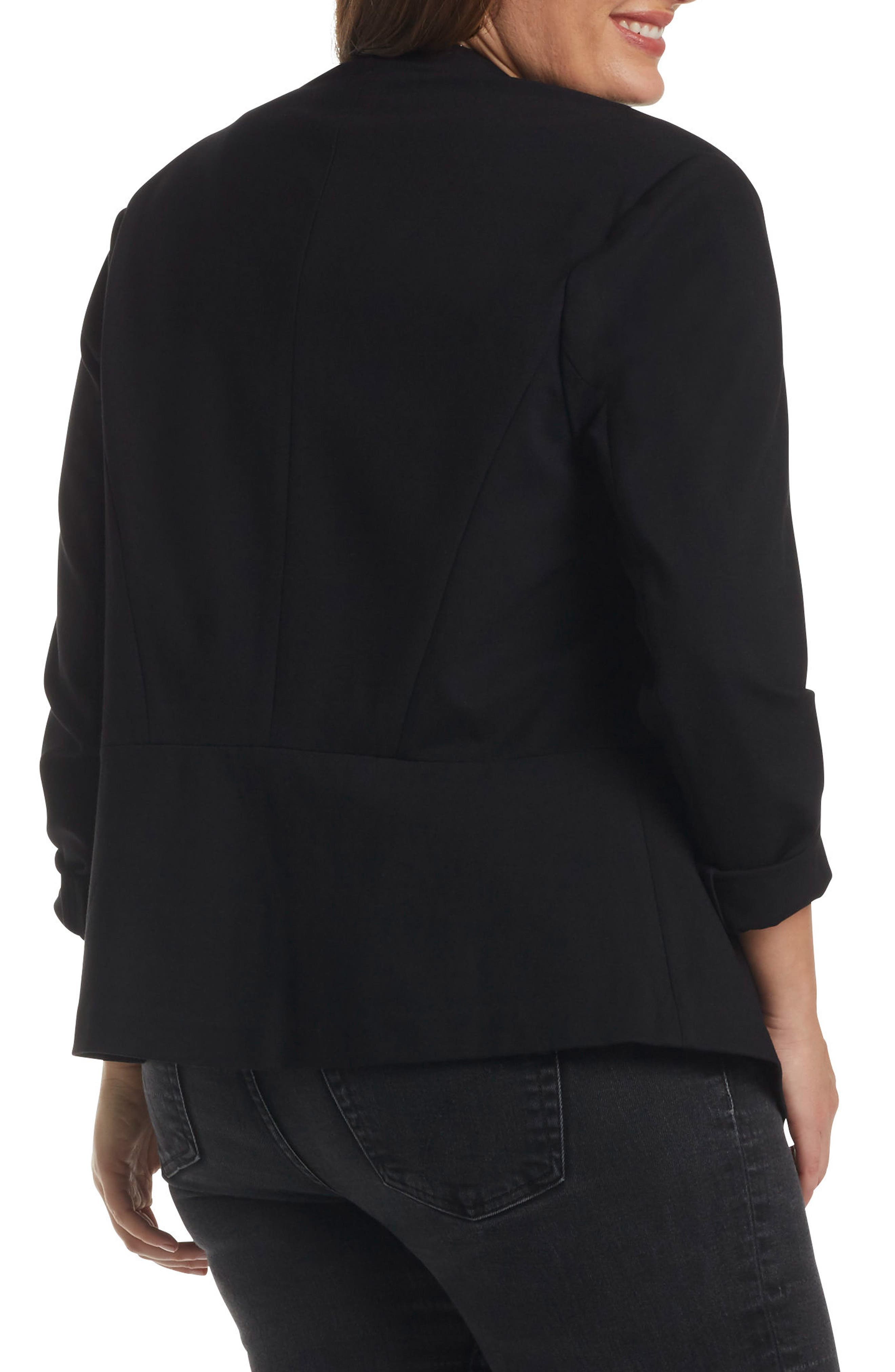 Alternate Image 2  - Tart 'Annabella' Open Front Blazer (Plus Size)