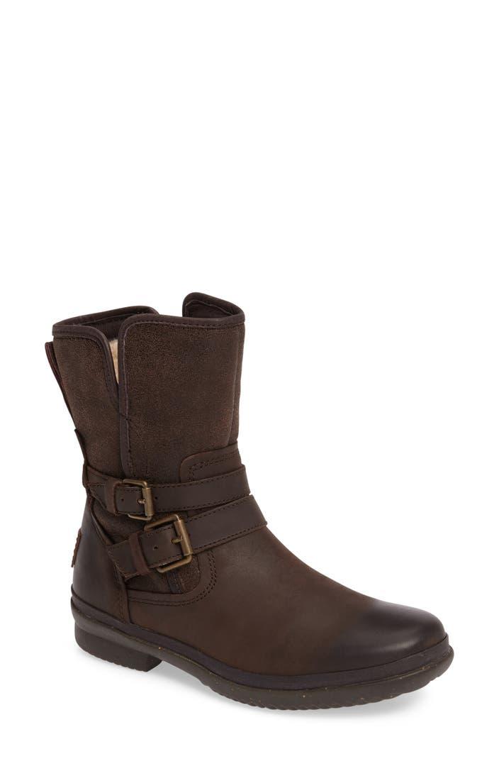 UGG® Simmens Waterproof Leather Boot (Women) | Nordstrom