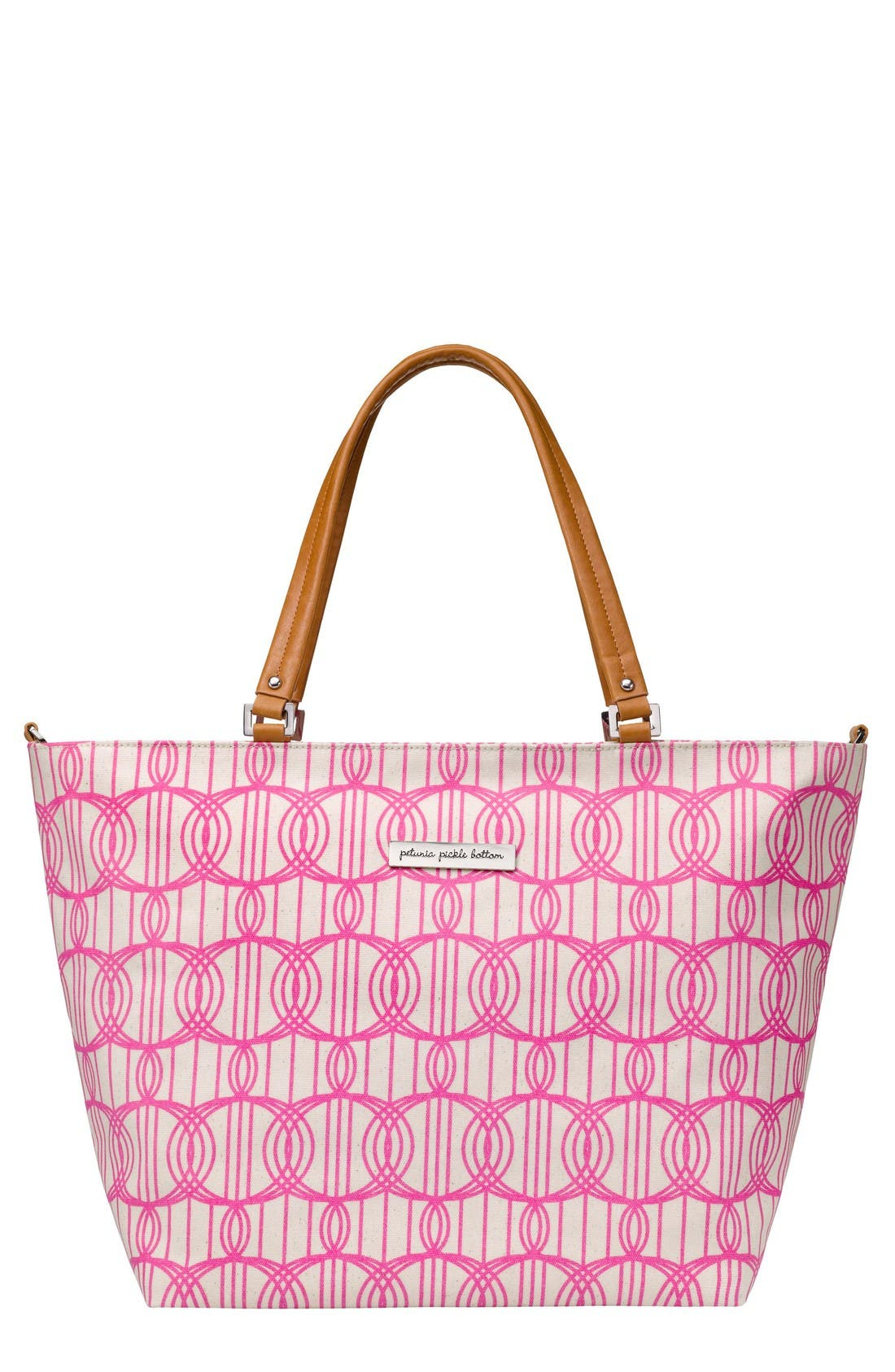 PETUNIA PICKLE BOTTOM 'Altogether' Glazed Canvas Tote