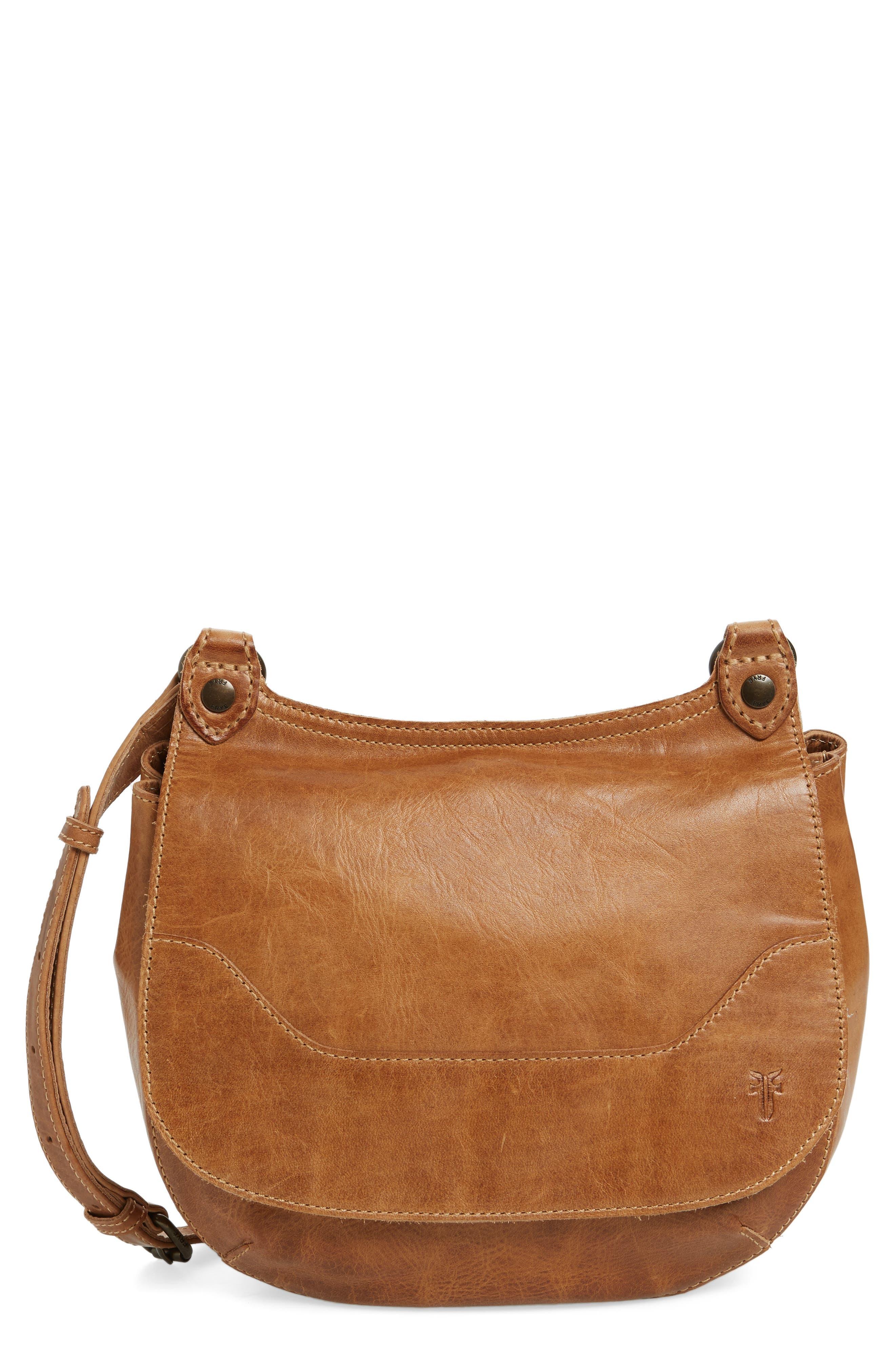 Alternate Image 1 Selected - Frye 'Melissa' Leather Crossbody Bag