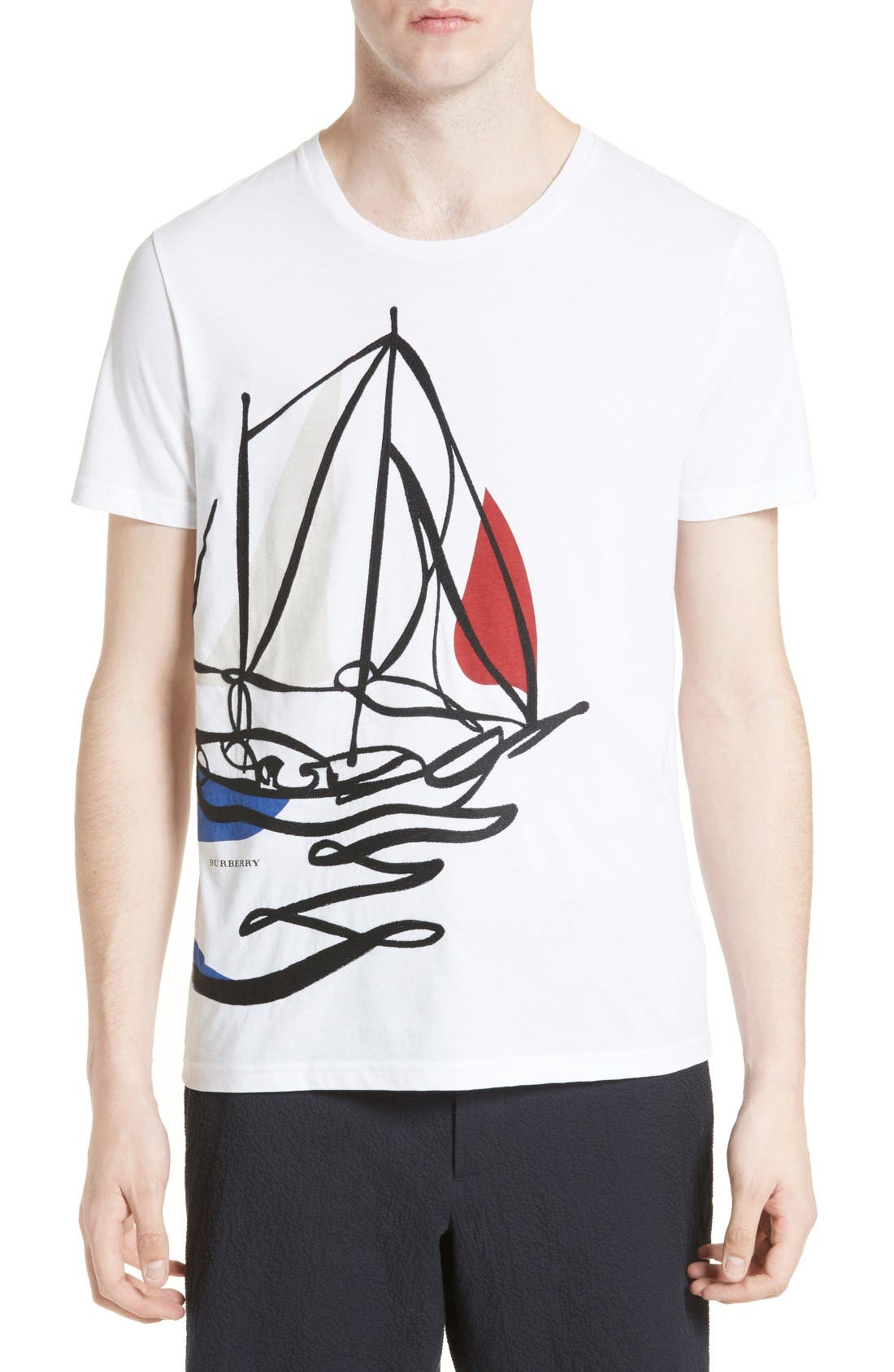 Burberry Findon Graphic T-Shirt