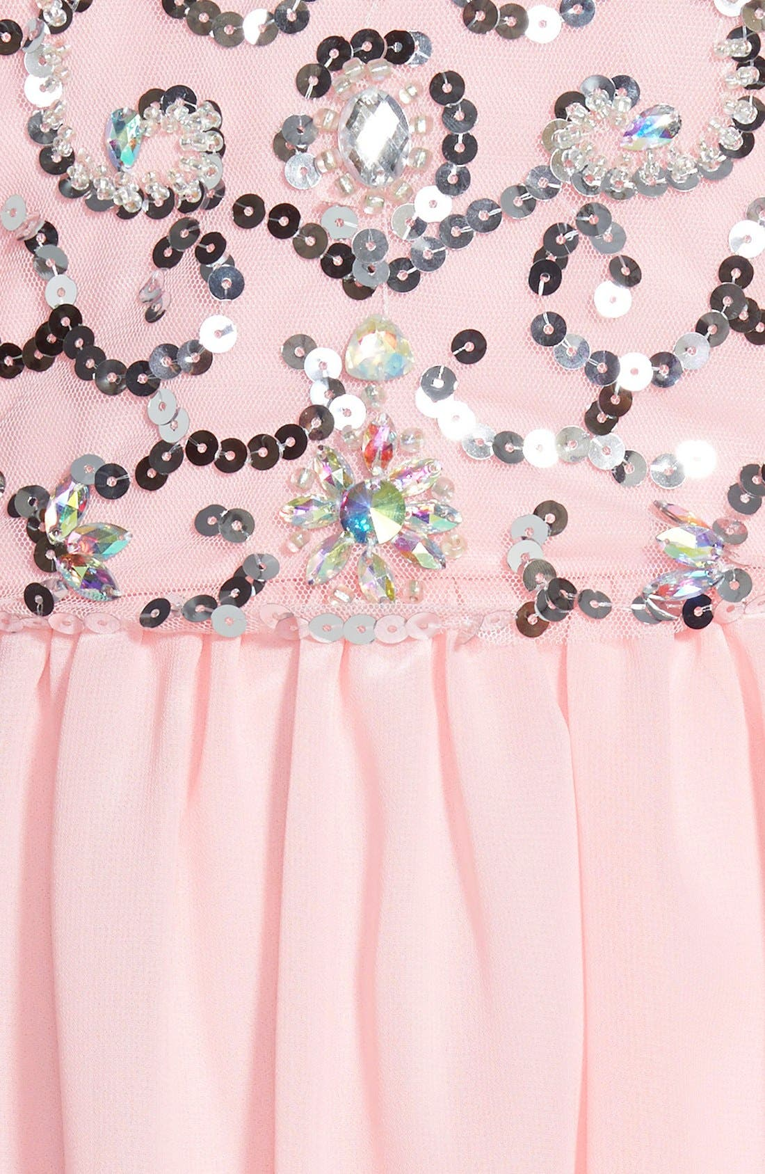Alternate Image 3  - Steppin Out Sequin Bodice Fit & Flare Dress (Juniors)