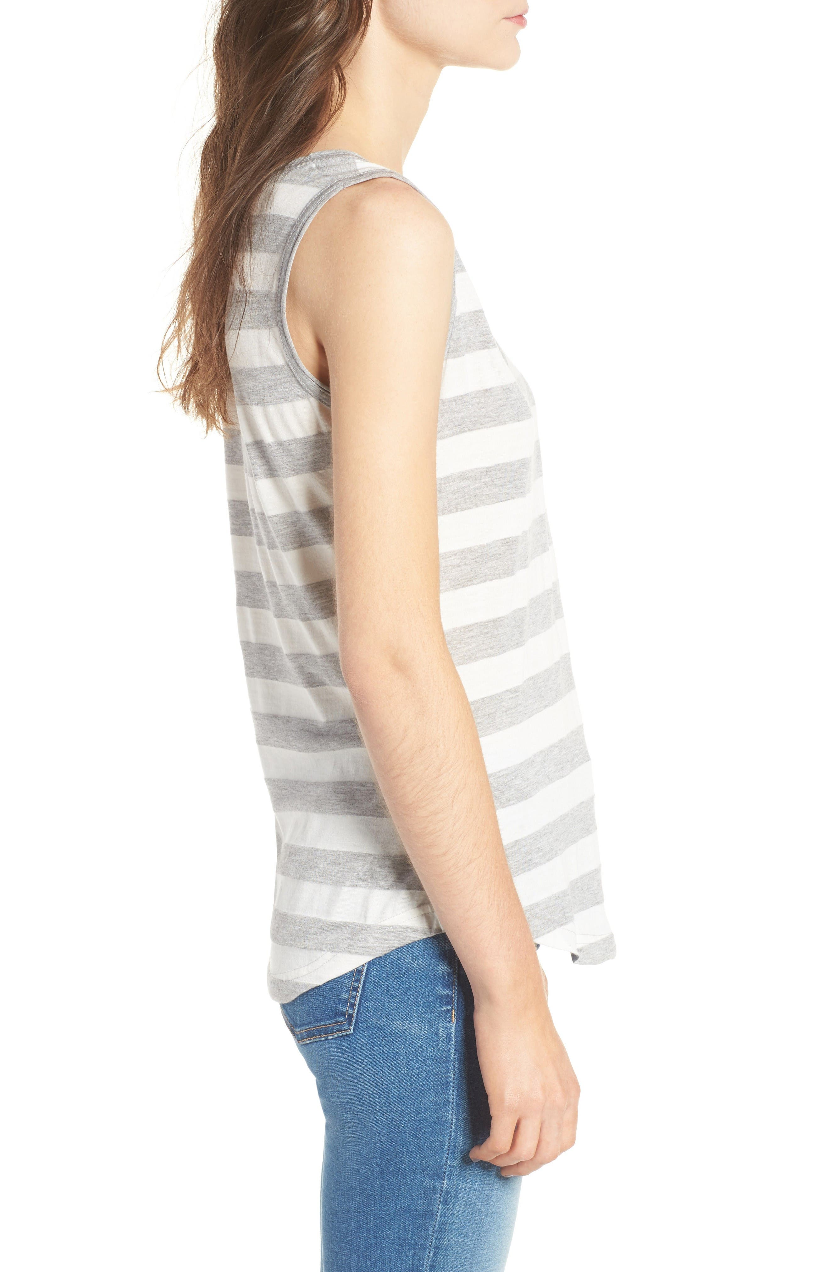 Alternate Image 3  - Barbour Trytone Jersey Tank