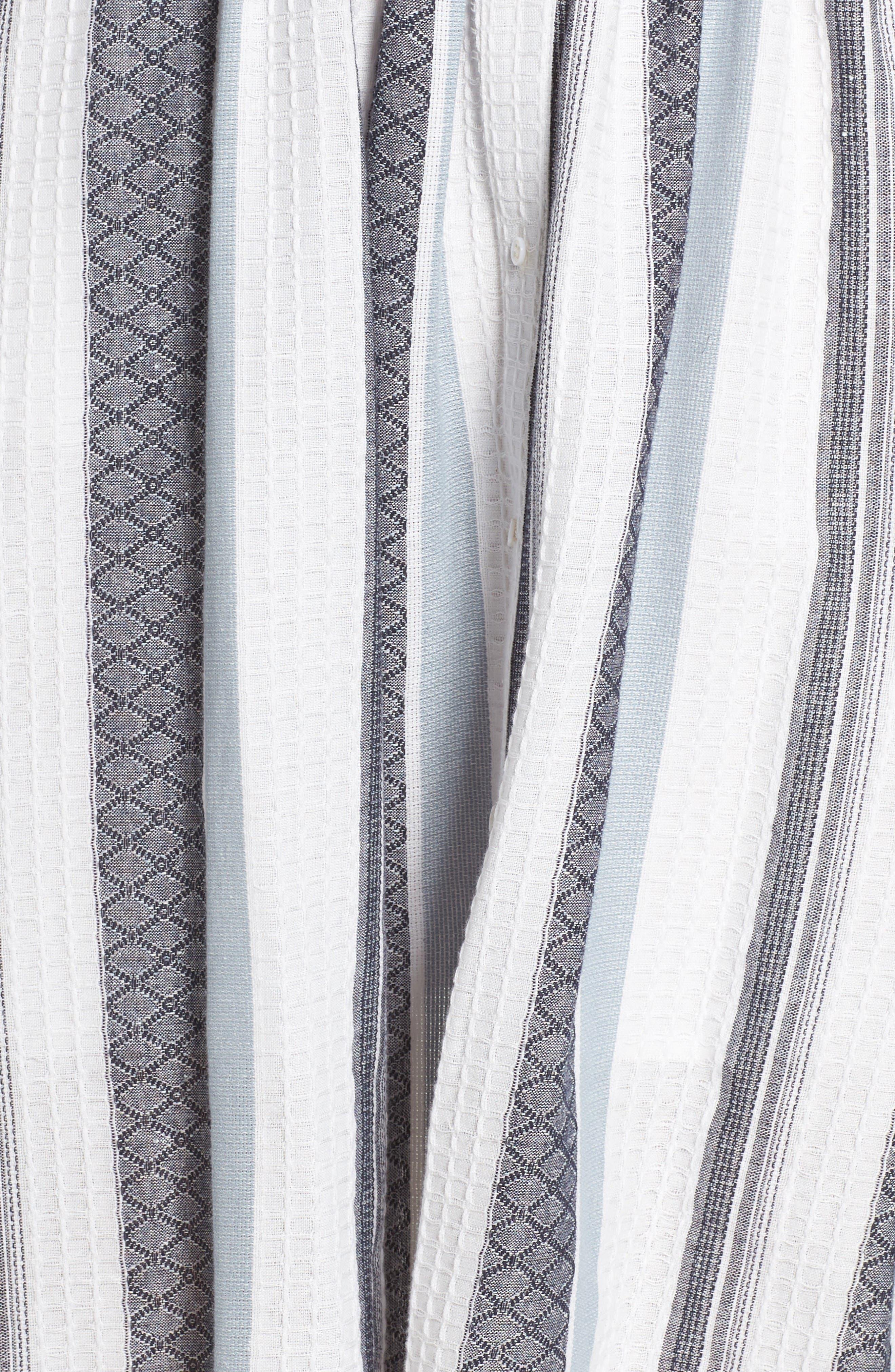 Alternate Image 5  - Bardot Ibiza Stripe Cotton Bow Front Sundress
