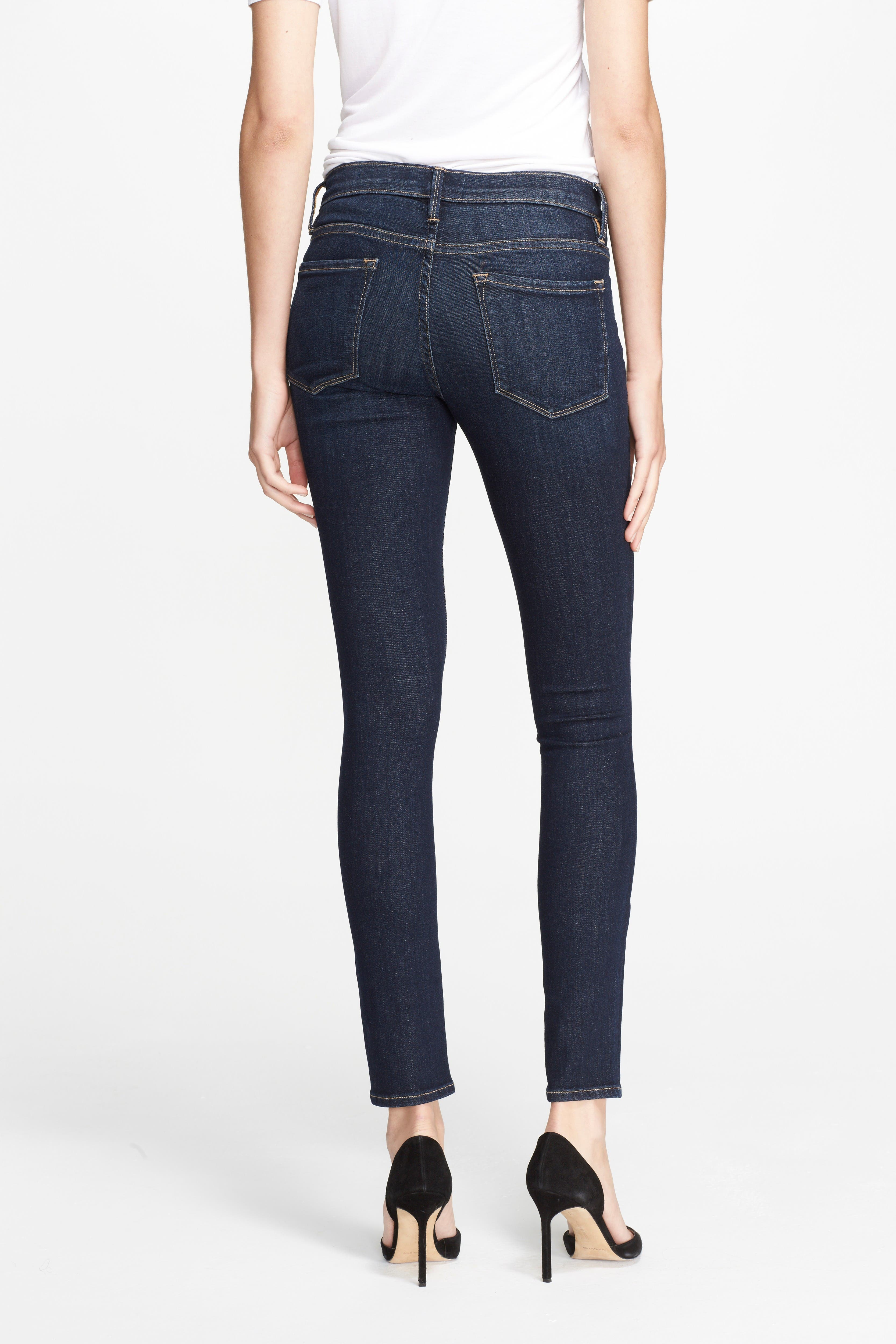 Alternate Image 3  - FRAME 'Le Skinny de Jeanne' Jeans (Queensway)