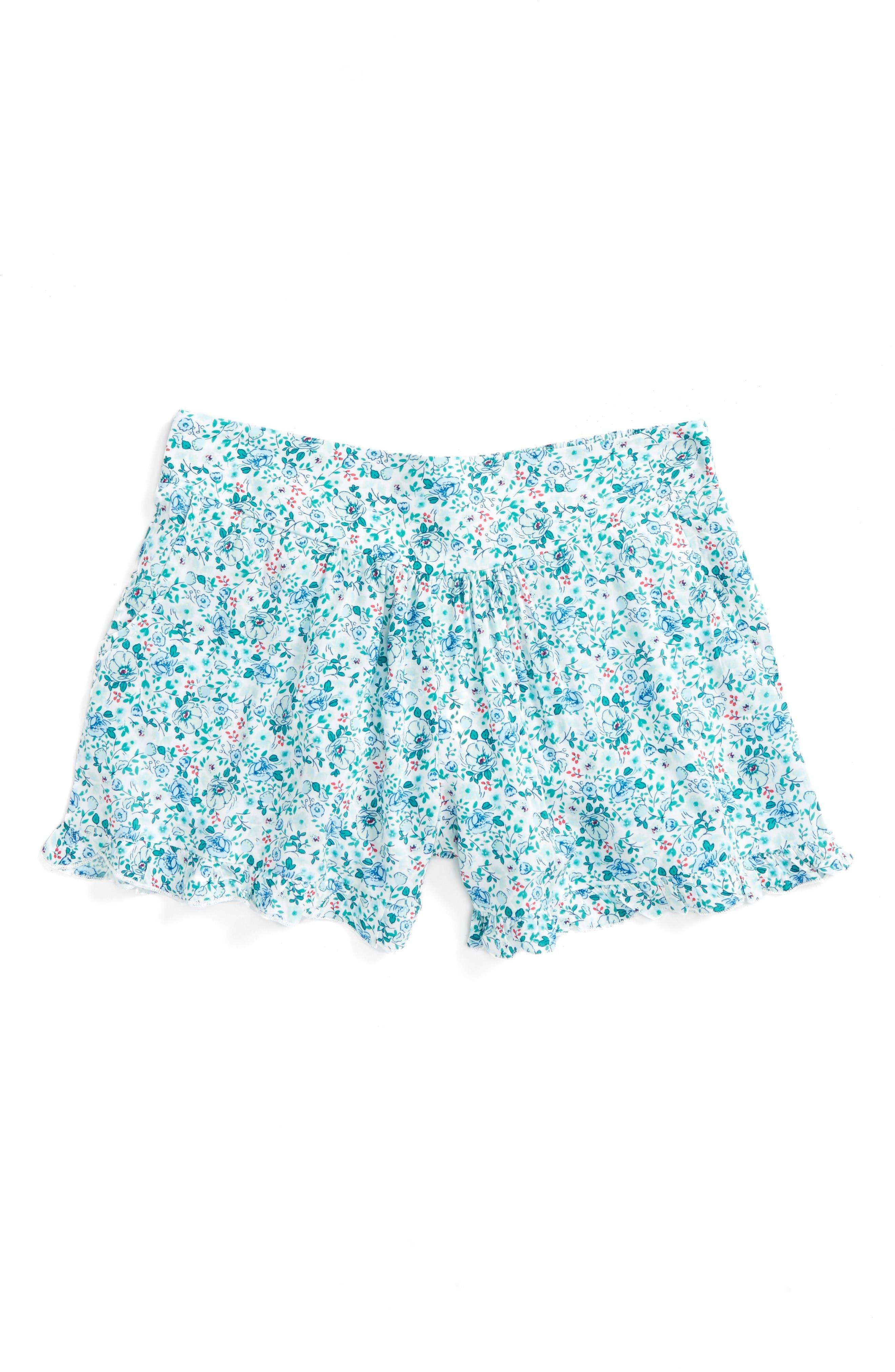 SPLENDID Floral Print Shorts