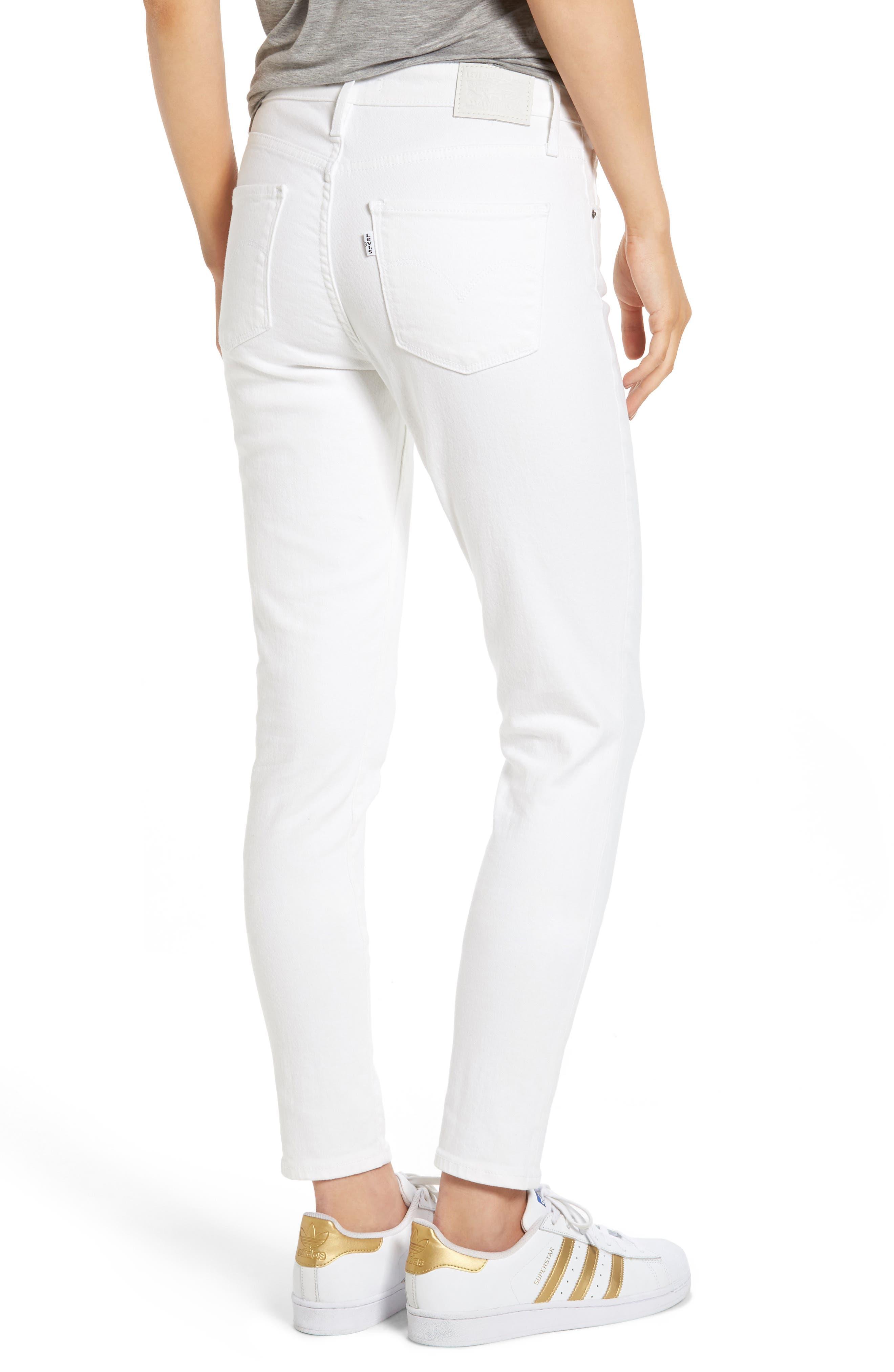 Alternate Image 2  - Levi's® 721 High Rise Skinny Jeans