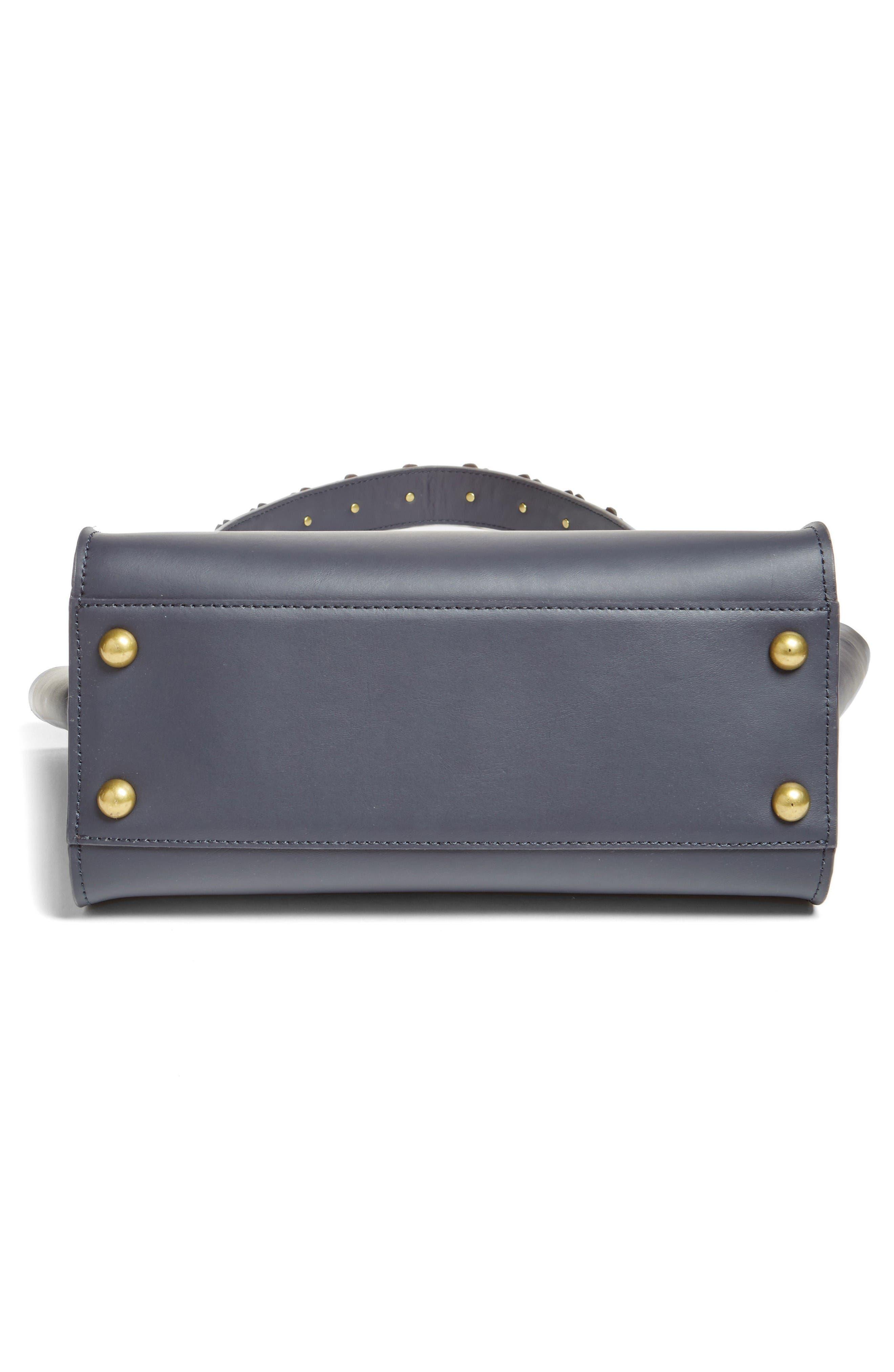 Alternate Image 5  - ZAC Zac Posen Eartha Iconic Leather Top Handle Satchel