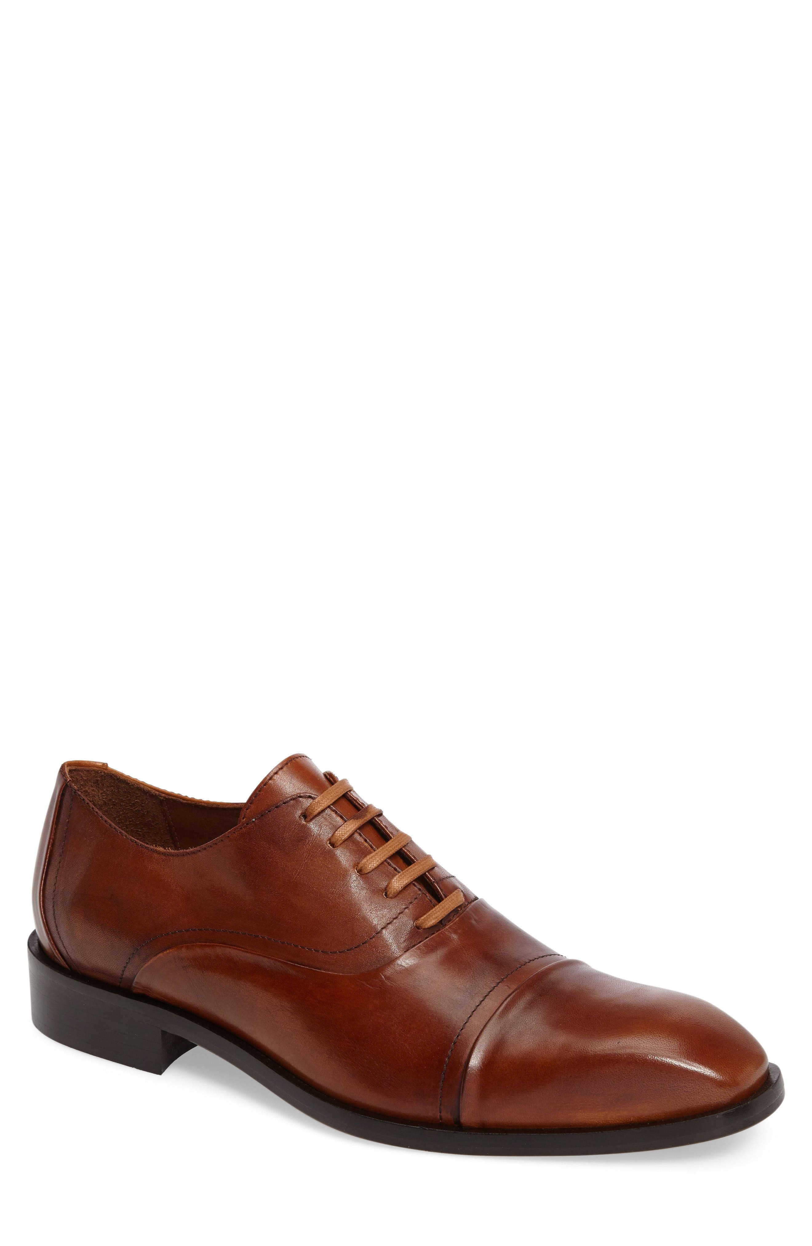 Donald J Pliner Valerico Cap Toe Oxford (Men)
