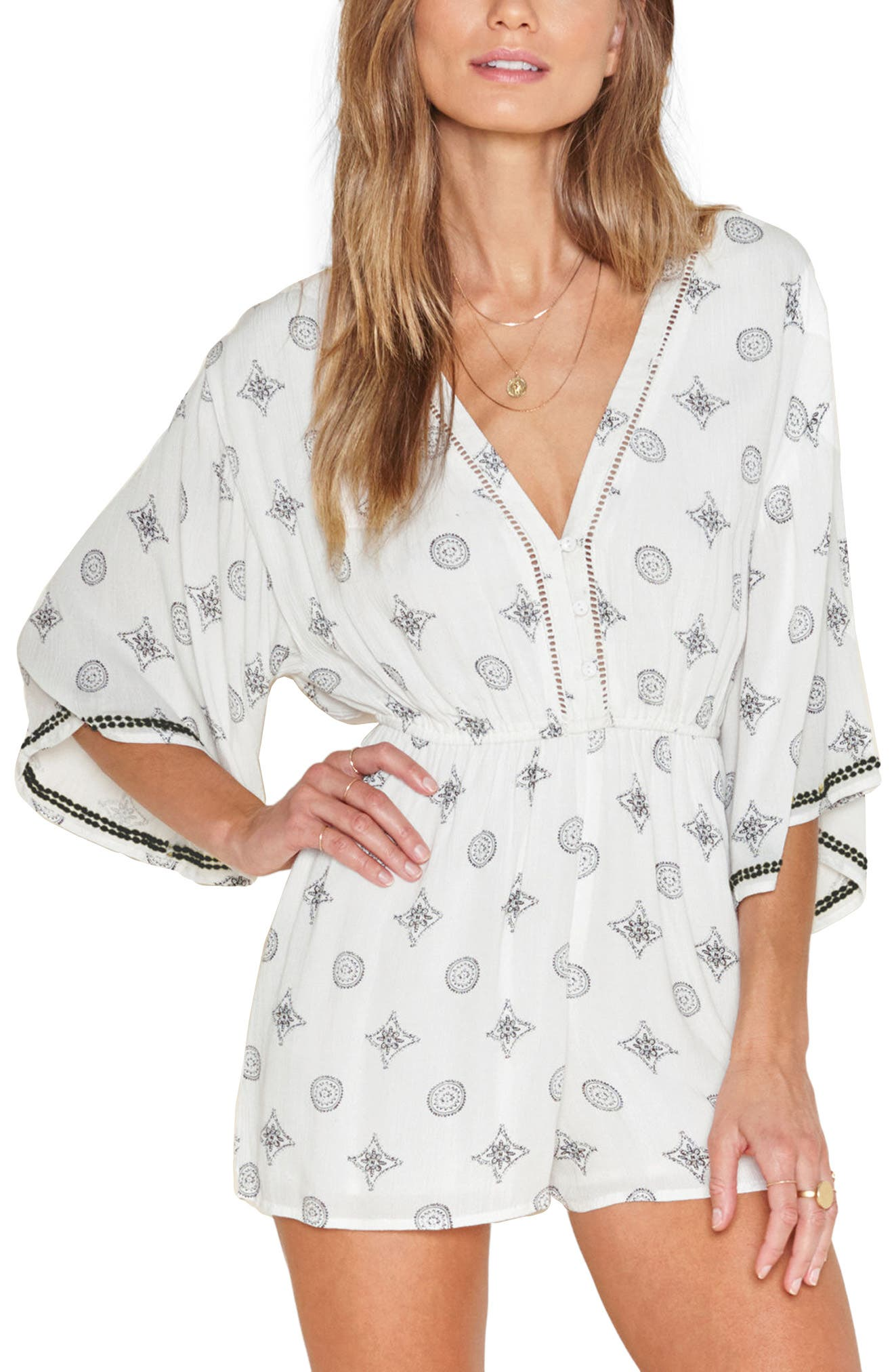 Alternate Image 1 Selected - Amuse Society Terra Romper