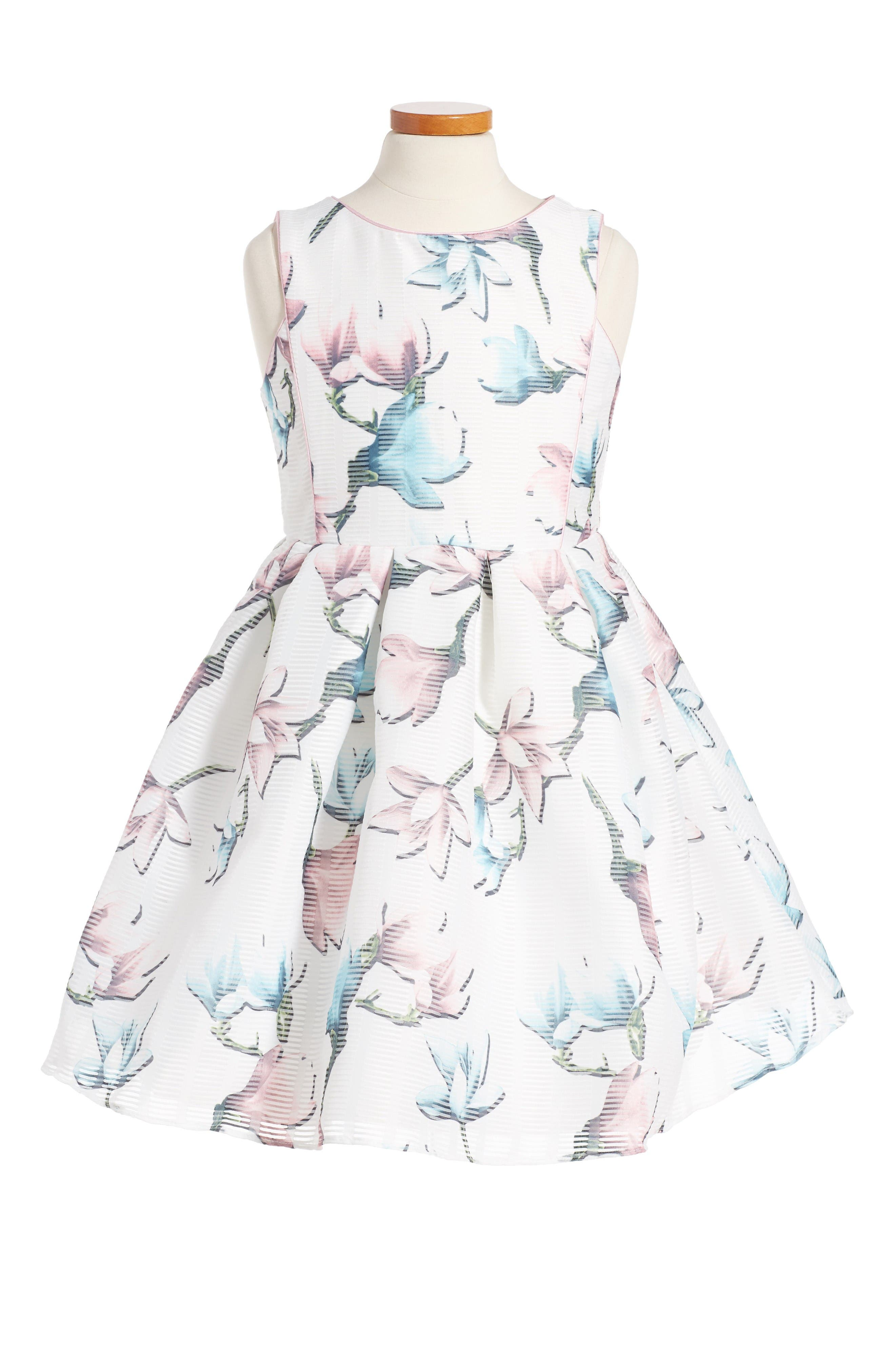 PIPPA & JULIE Floral Print Sleeveless Dress